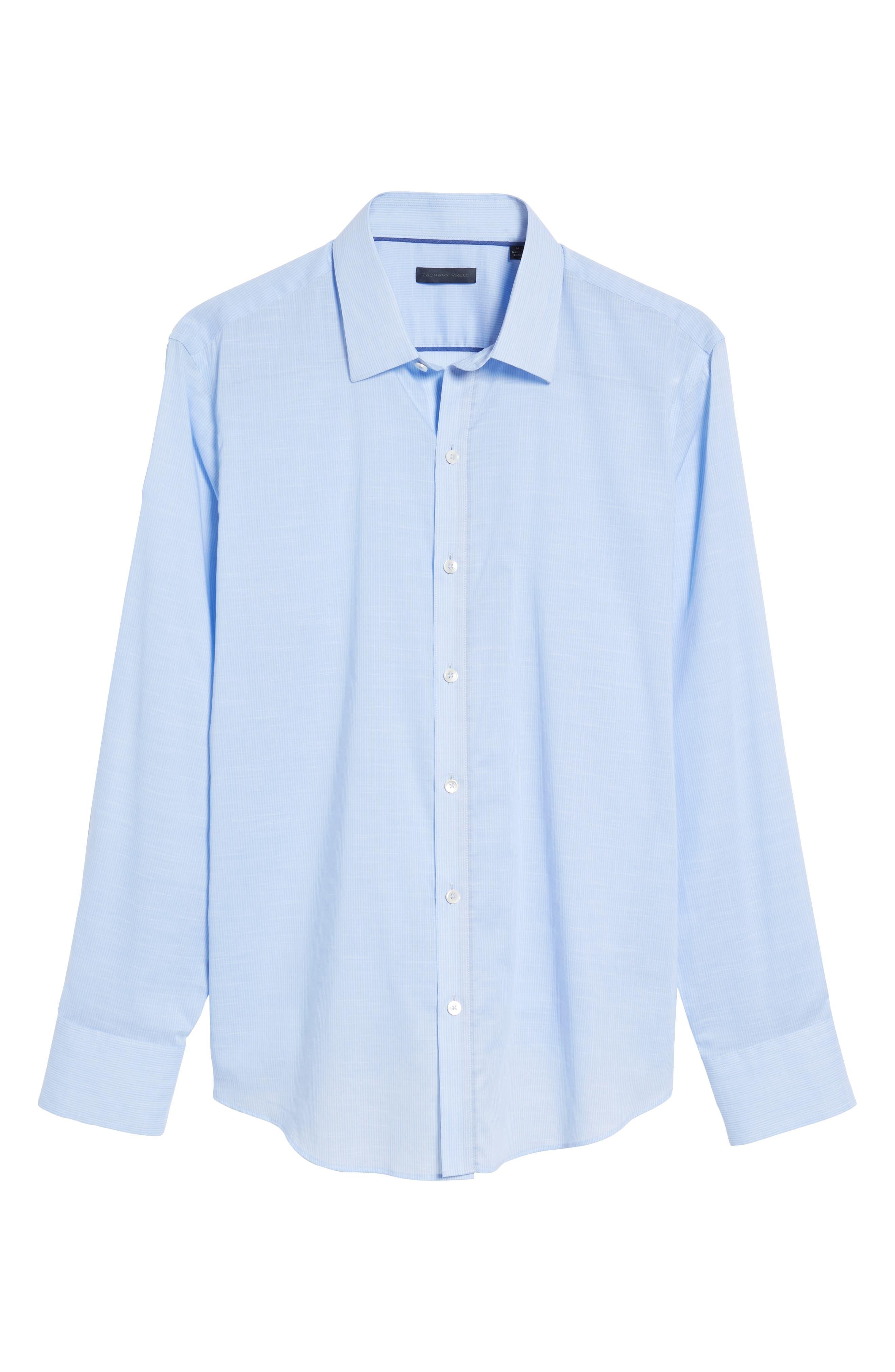 Ridley Slim Fit Texture Sport Shirt,                             Alternate thumbnail 6, color,