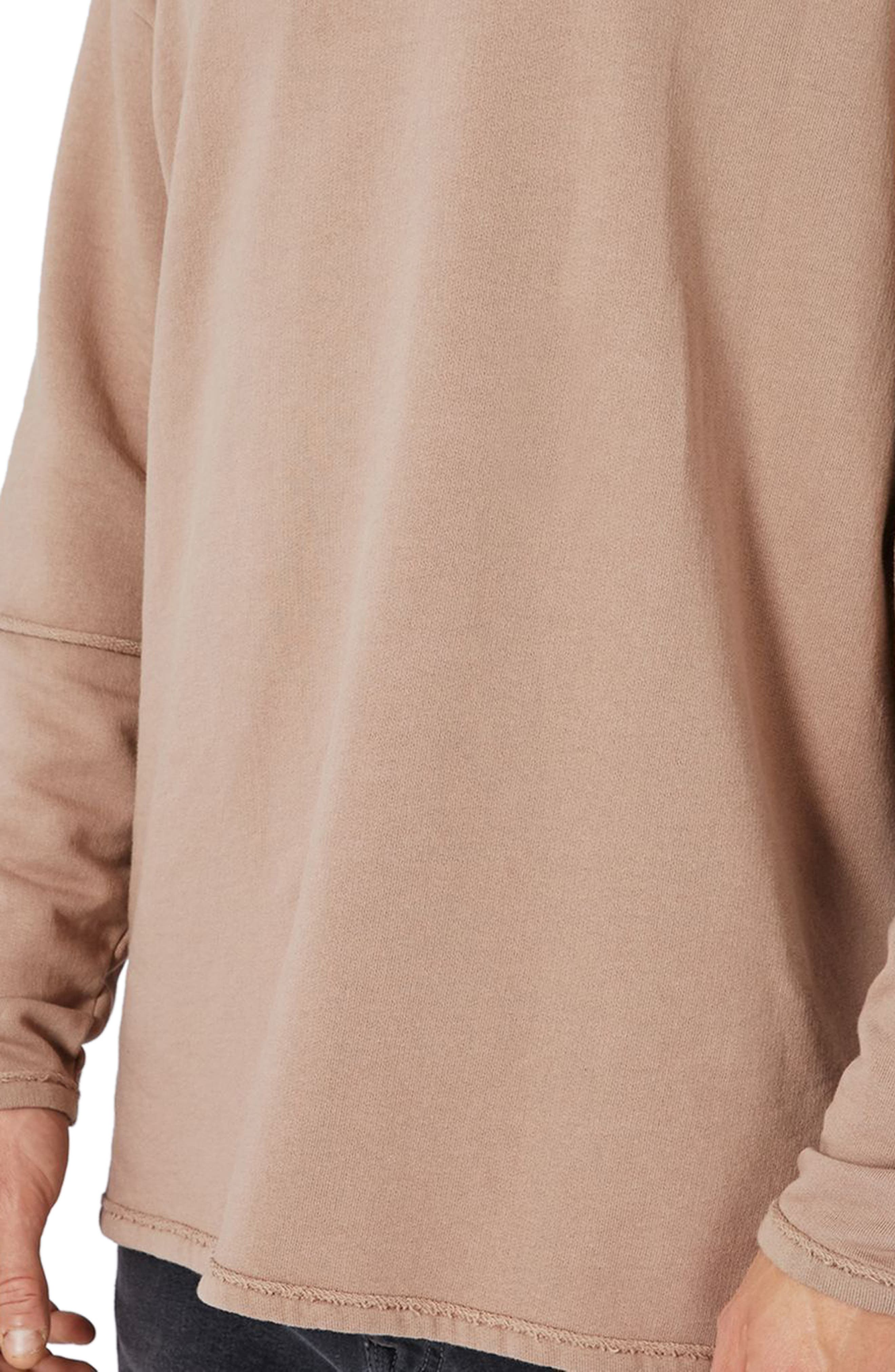 Layer Sleeve Sweatshirt,                             Alternate thumbnail 3, color,                             230