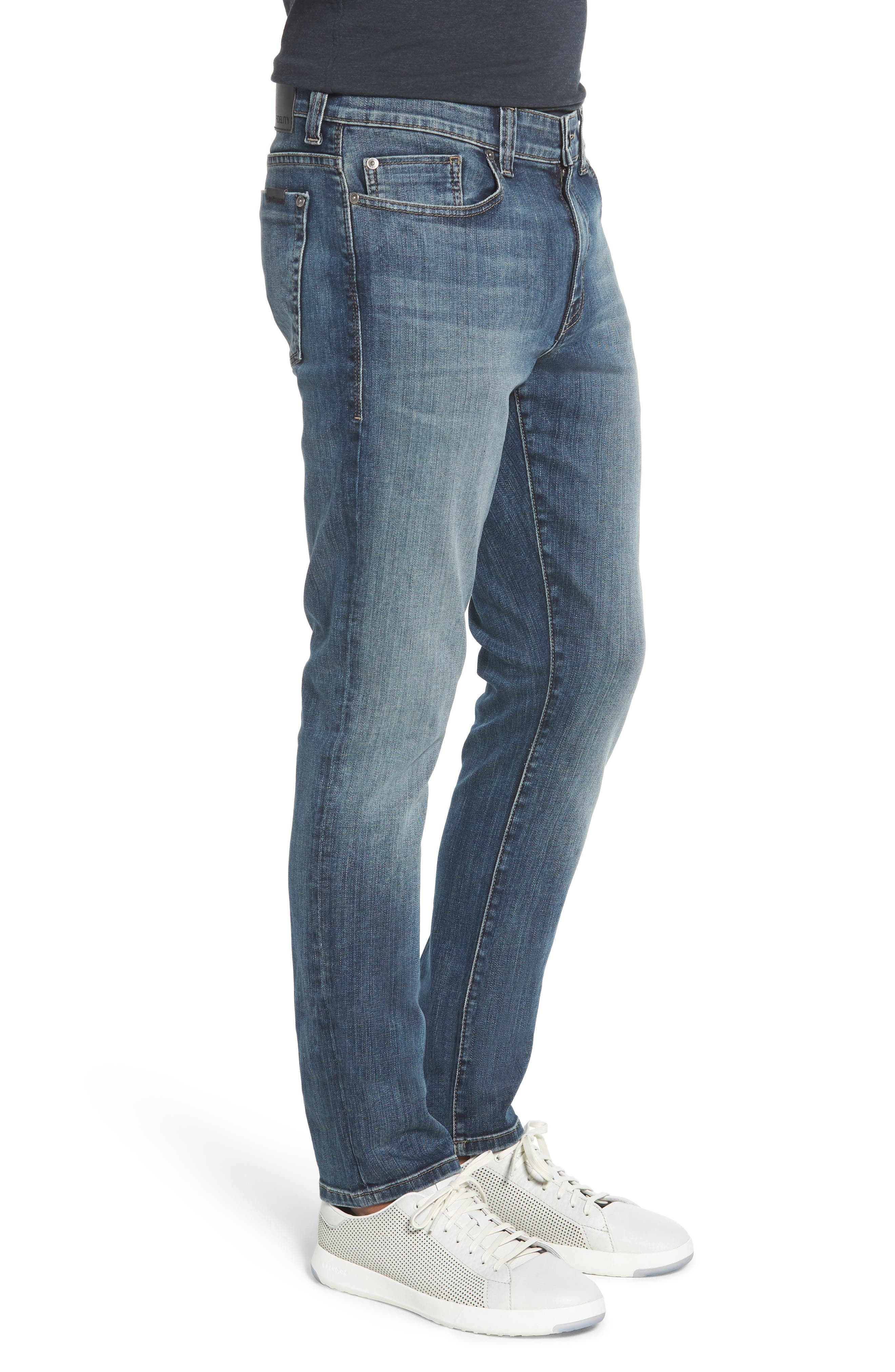 Jimmy Slim Straight Leg Jeans,                             Alternate thumbnail 3, color,                             CATHEDRAL