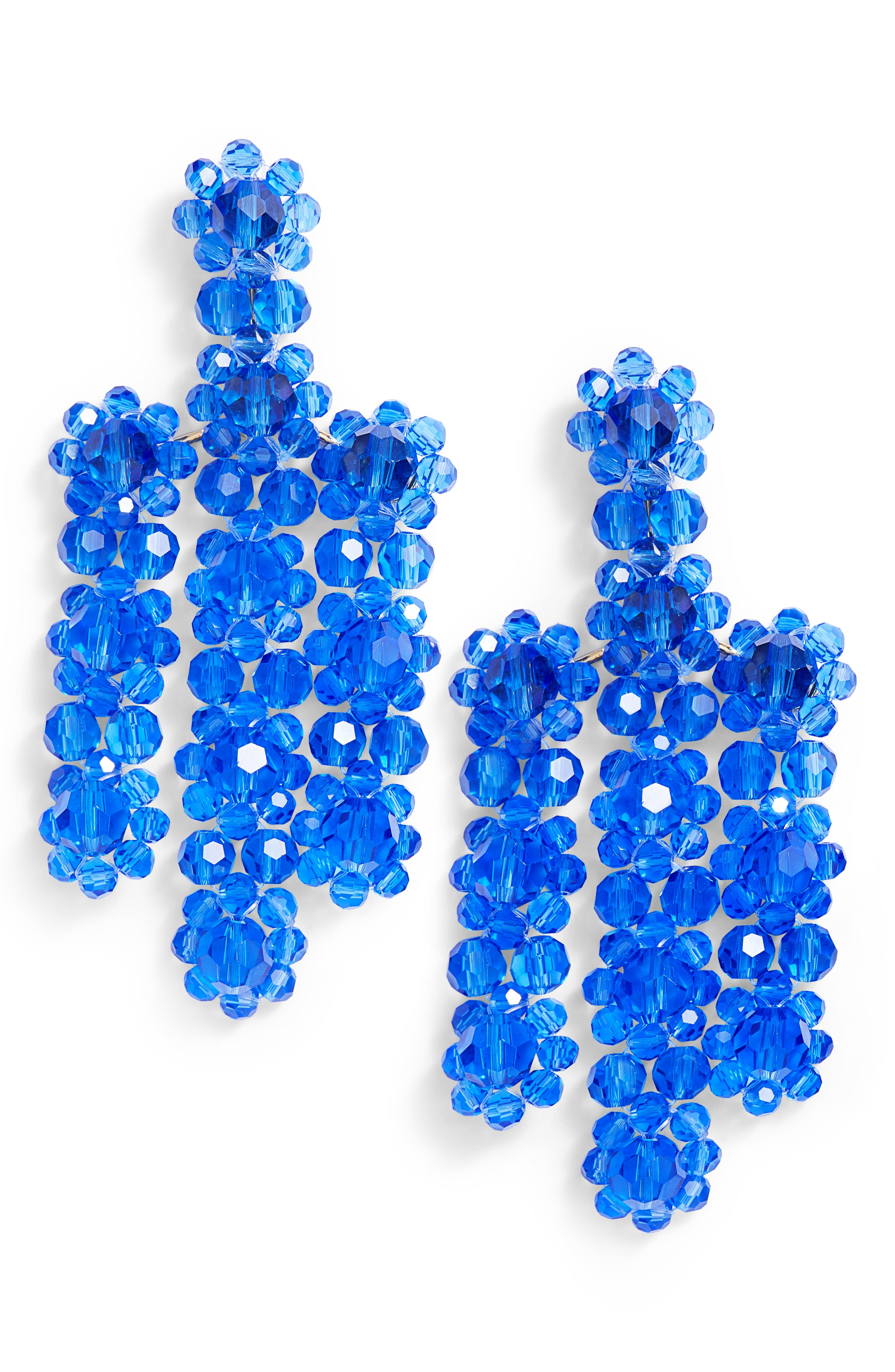 the bead goes on statement earrings,                         Main,                         color,