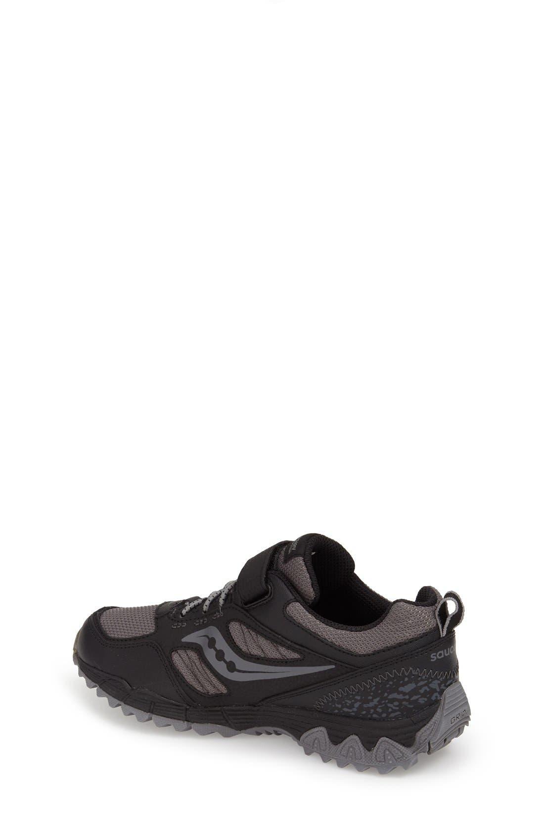 'Excursion Shield' Water Resistant Trail Shoe,                             Alternate thumbnail 6, color,                             001