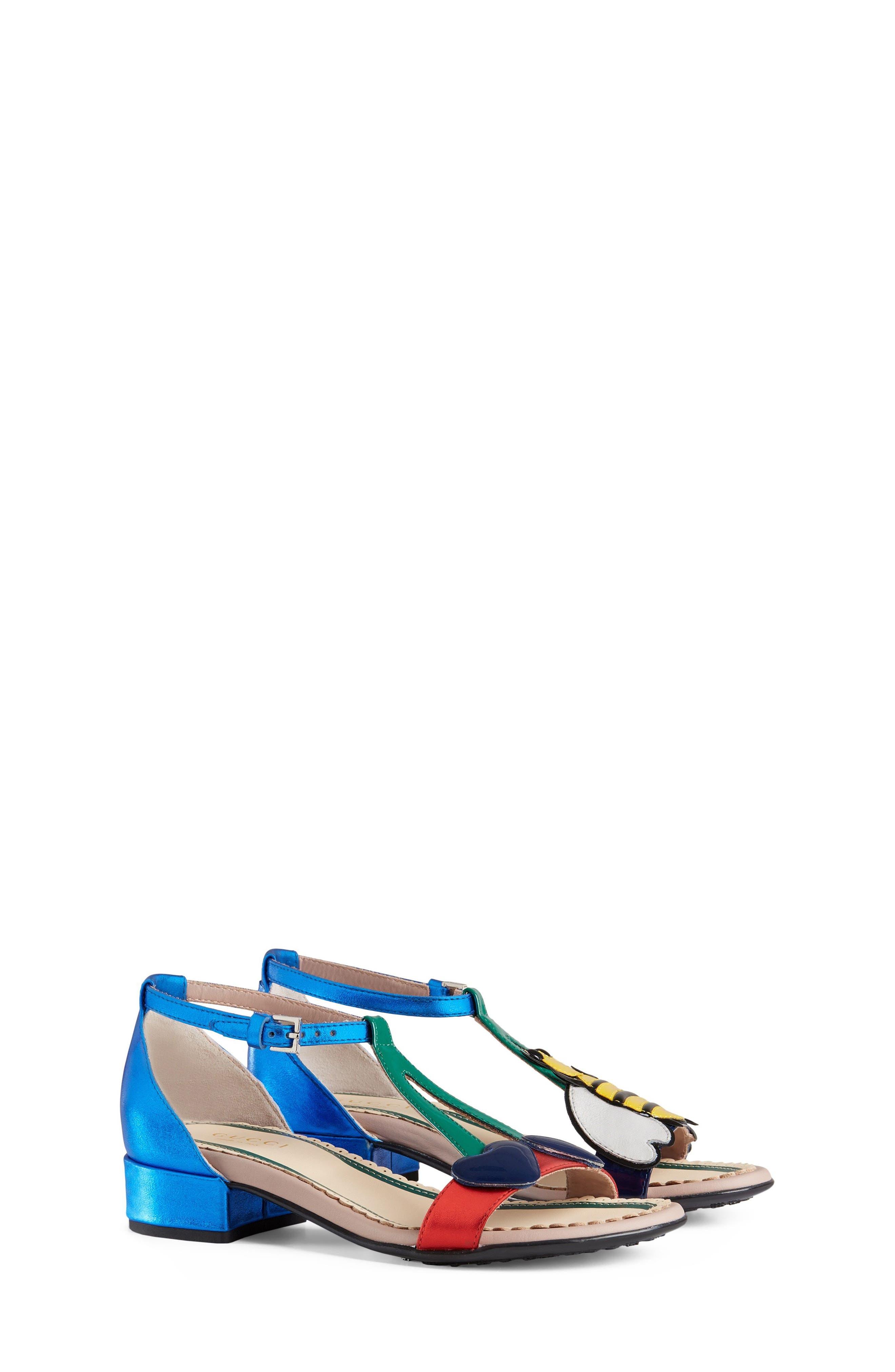 Bee Cerise Sandal,                         Main,                         color, 400
