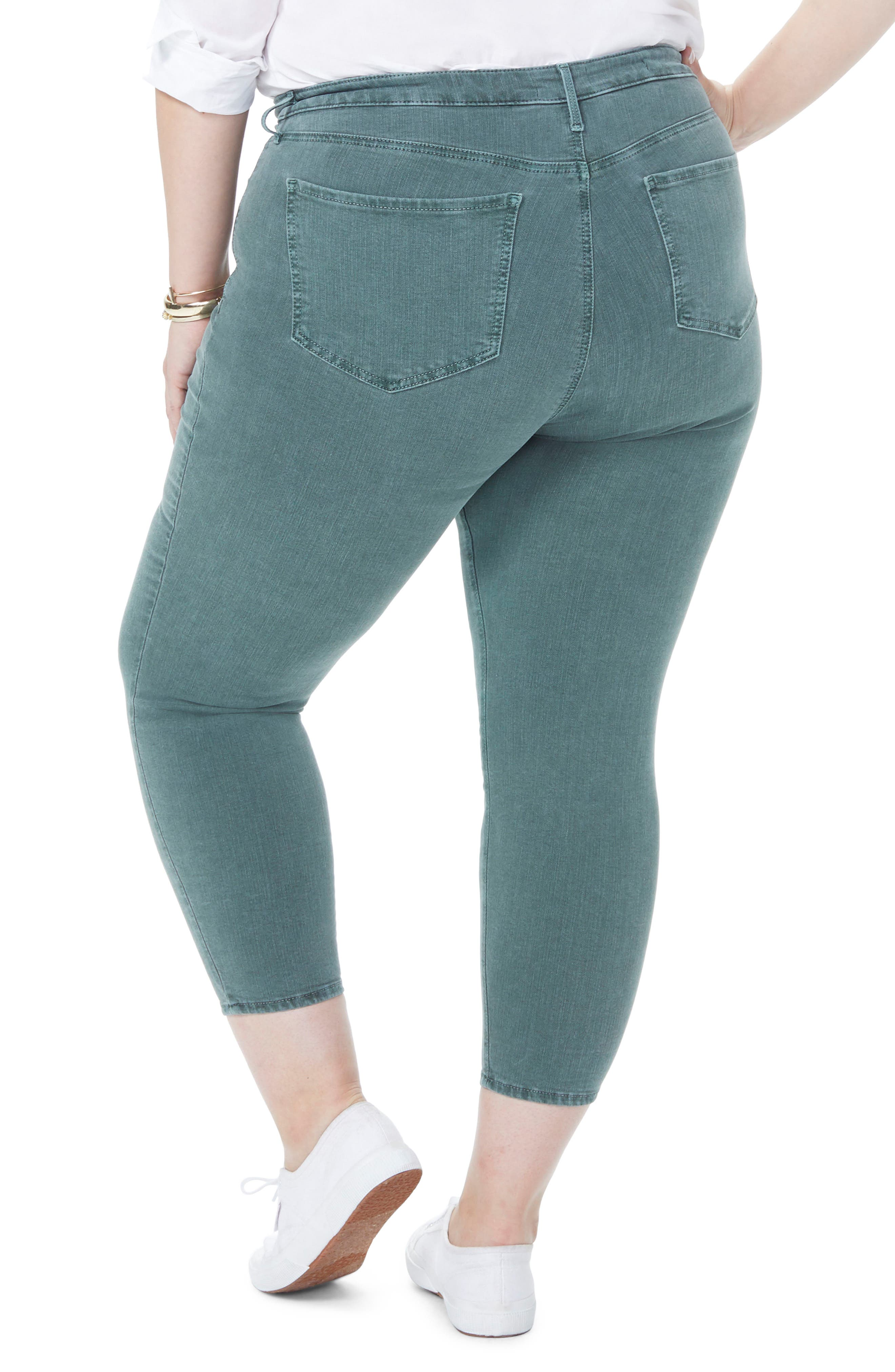 Ami Stretch Ankle Skinny Jeans,                             Alternate thumbnail 2, color,                             SUGAR PINE