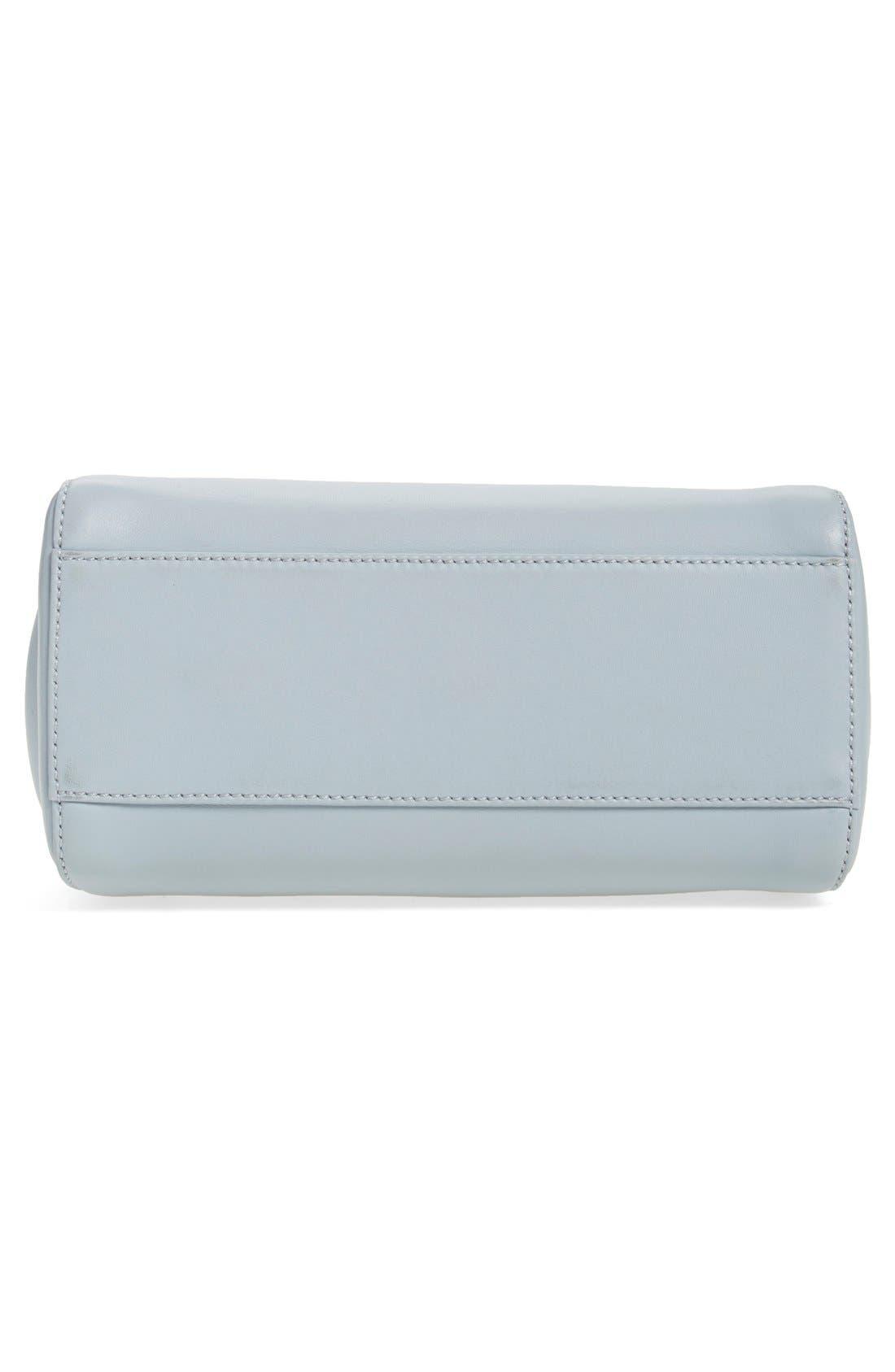 'Mini Peekaboo' Colorblock Leather Bag,                             Alternate thumbnail 2, color,                             250