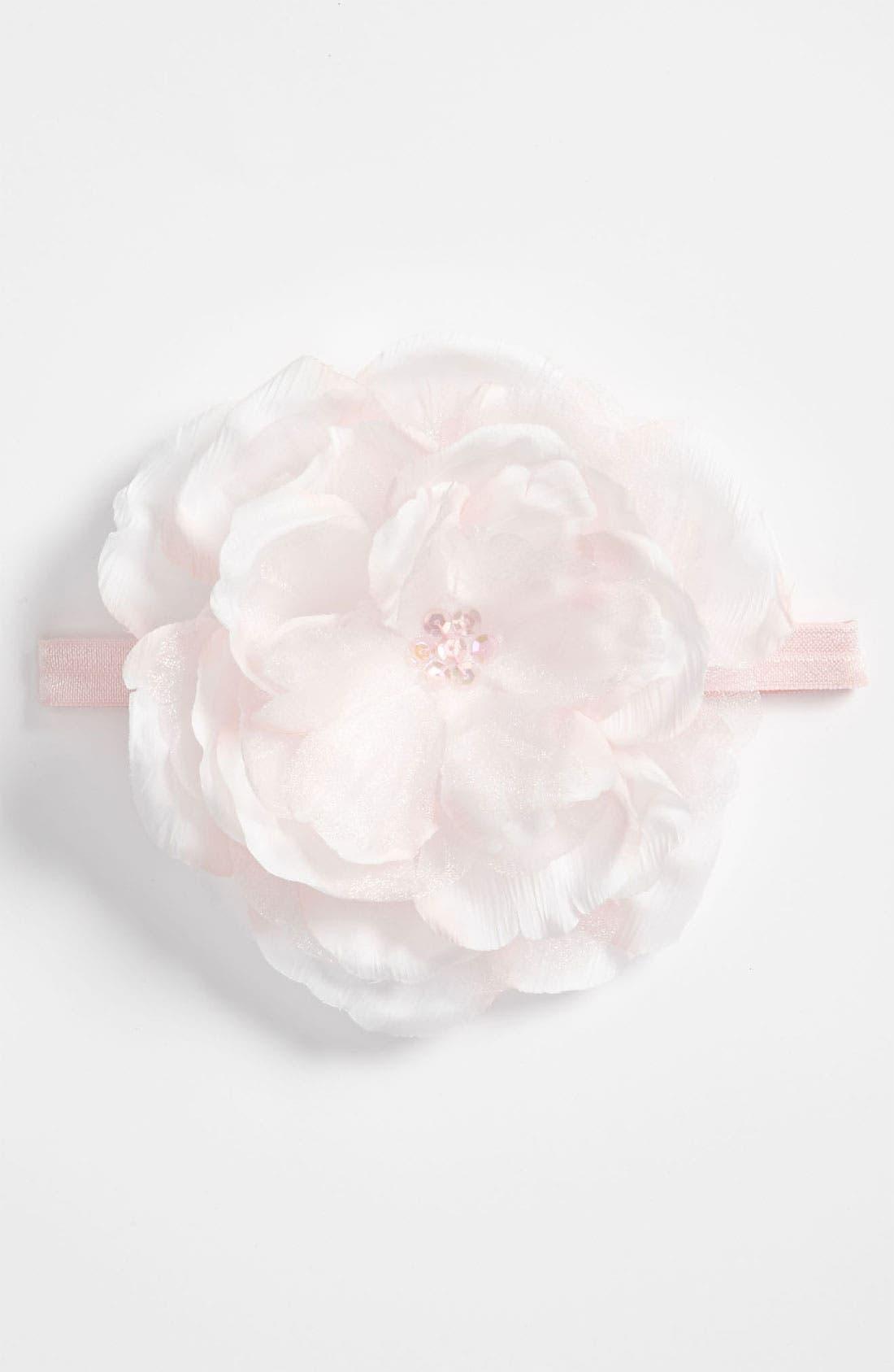 Flower Headband,                             Main thumbnail 2, color,