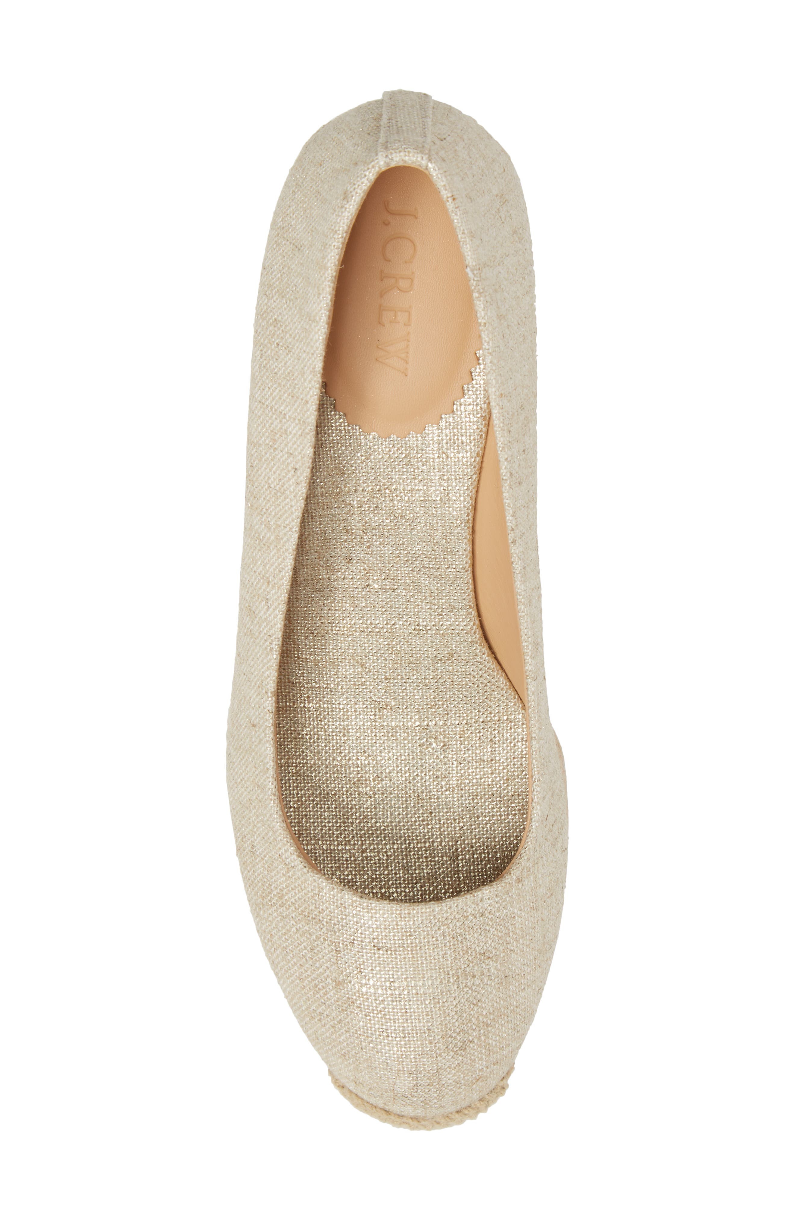 Seville Espadrille Wedge,                             Alternate thumbnail 5, color,                             710