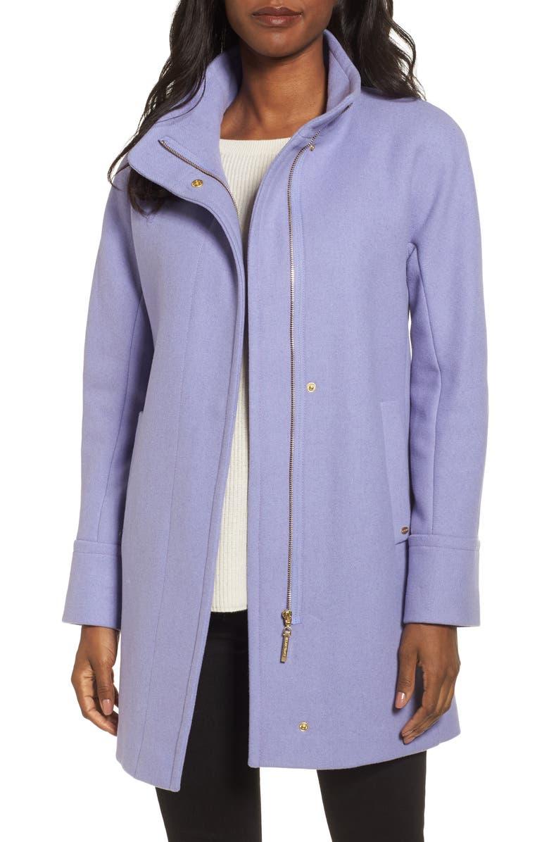 f234fba5284 Ellen Tracy Wool Blend Stadium Coat (Regular   Petite)