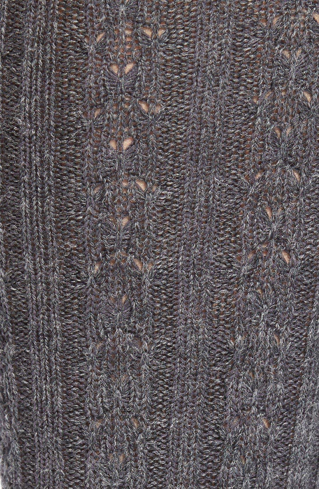 Cable Knit Knee Socks,                             Alternate thumbnail 6, color,
