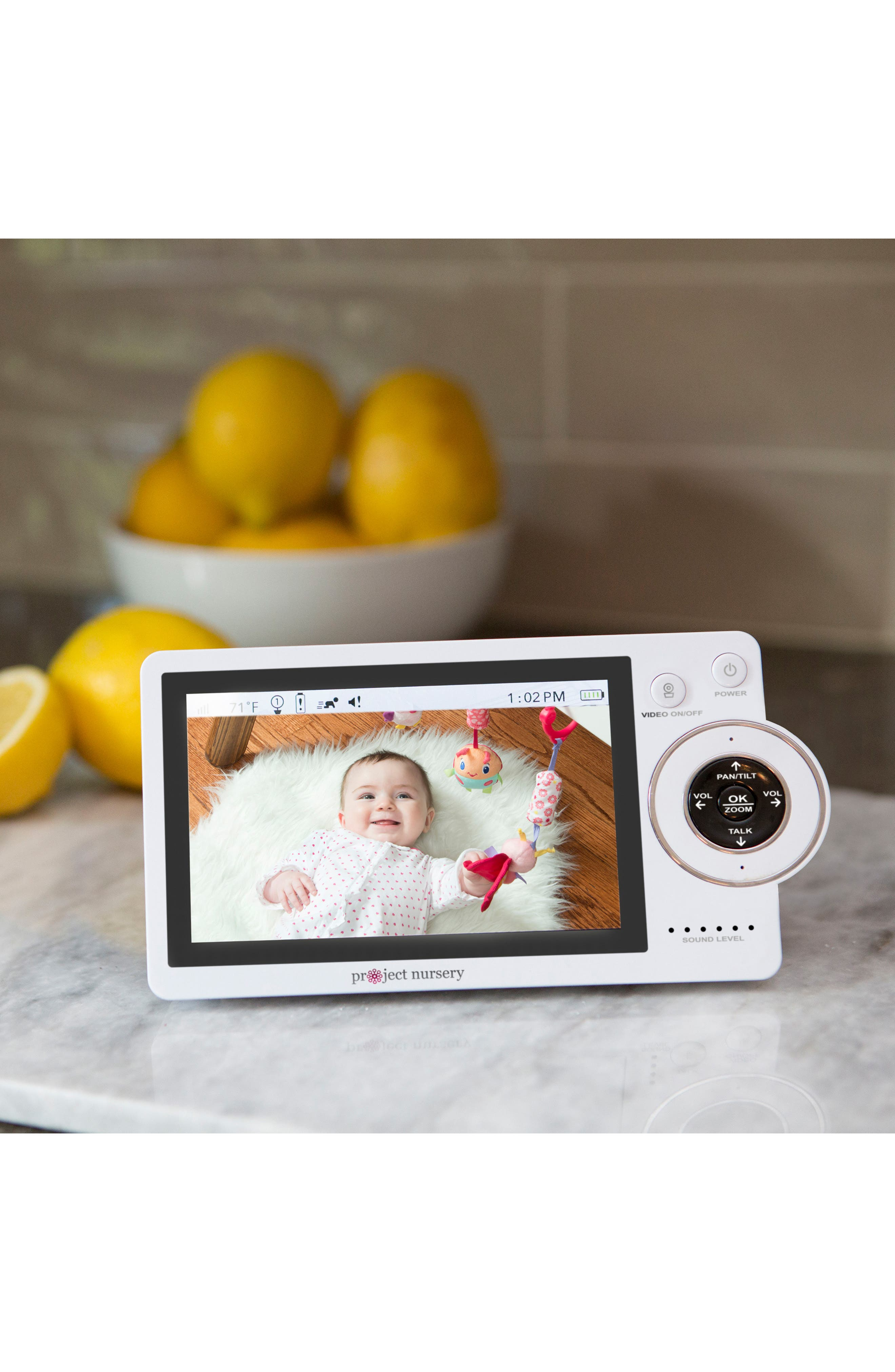 Dual Connect Baby Monitor System,                             Alternate thumbnail 8, color,                             WHITE