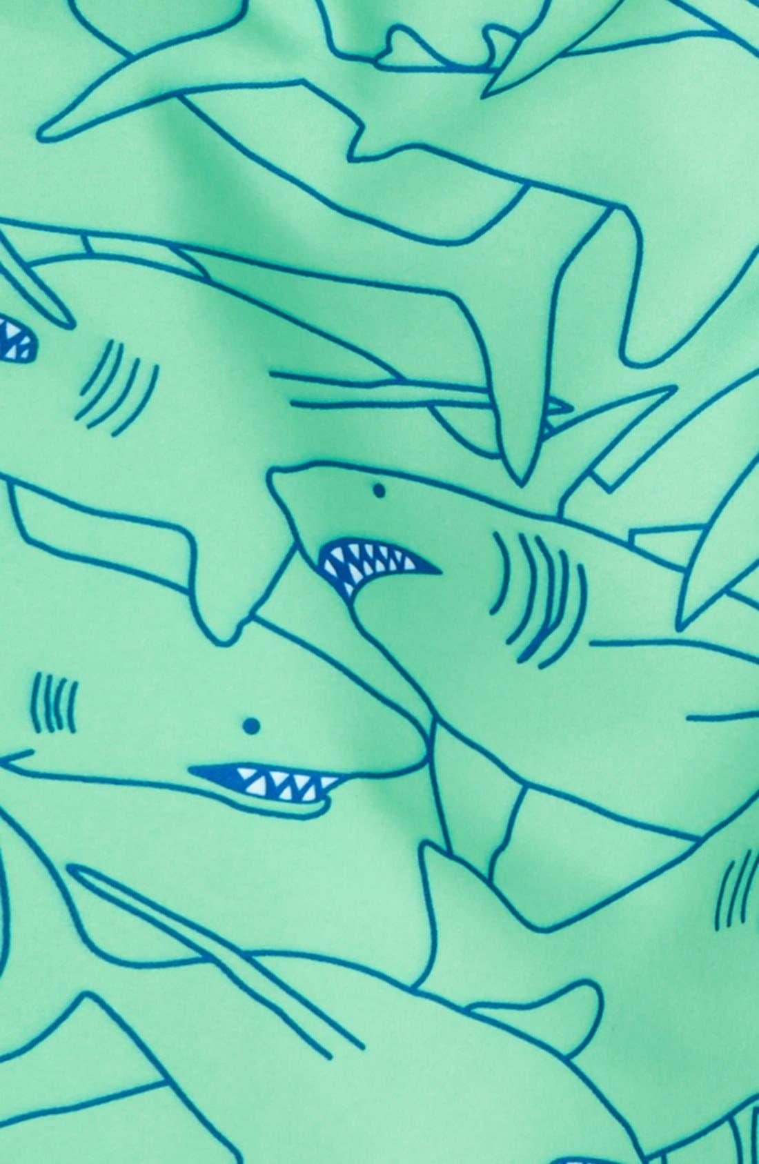 'Sand 'N My Trunks' Swim Trunks,                             Alternate thumbnail 42, color,