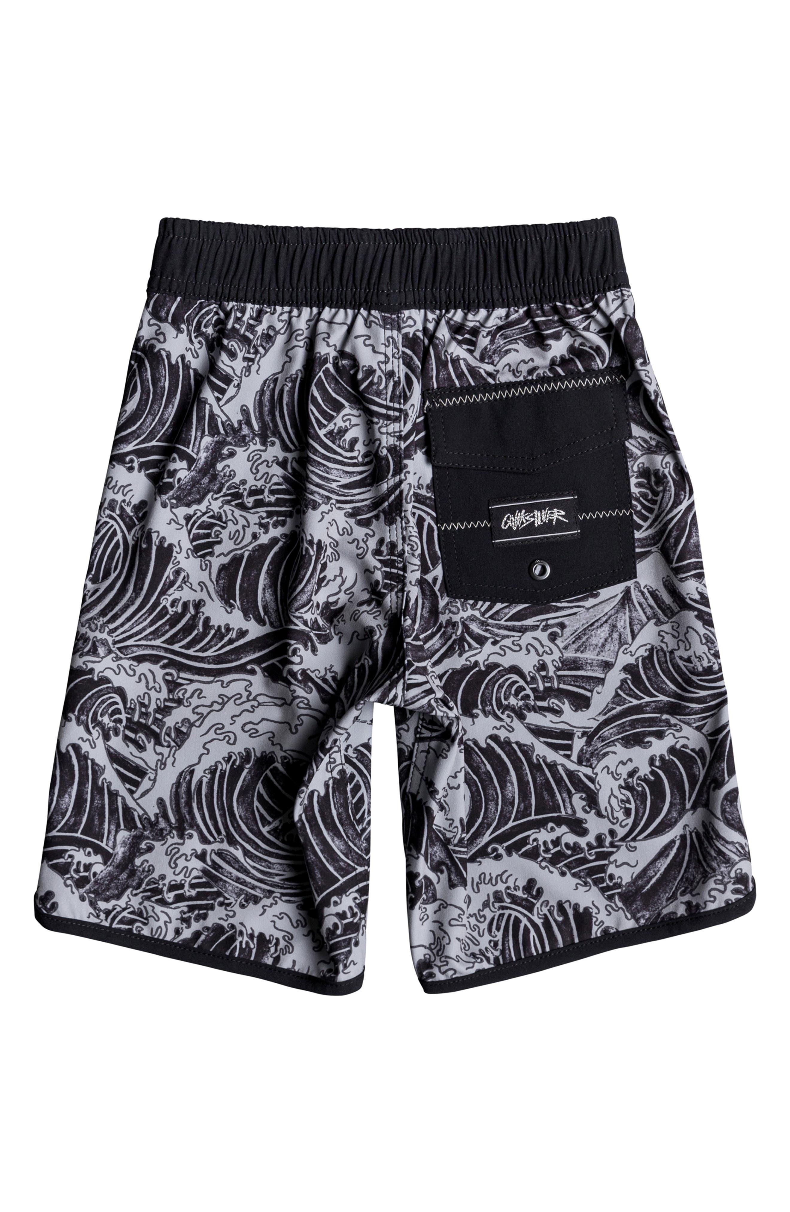 Highline Legend Board Shorts,                             Alternate thumbnail 2, color,                             BLACK
