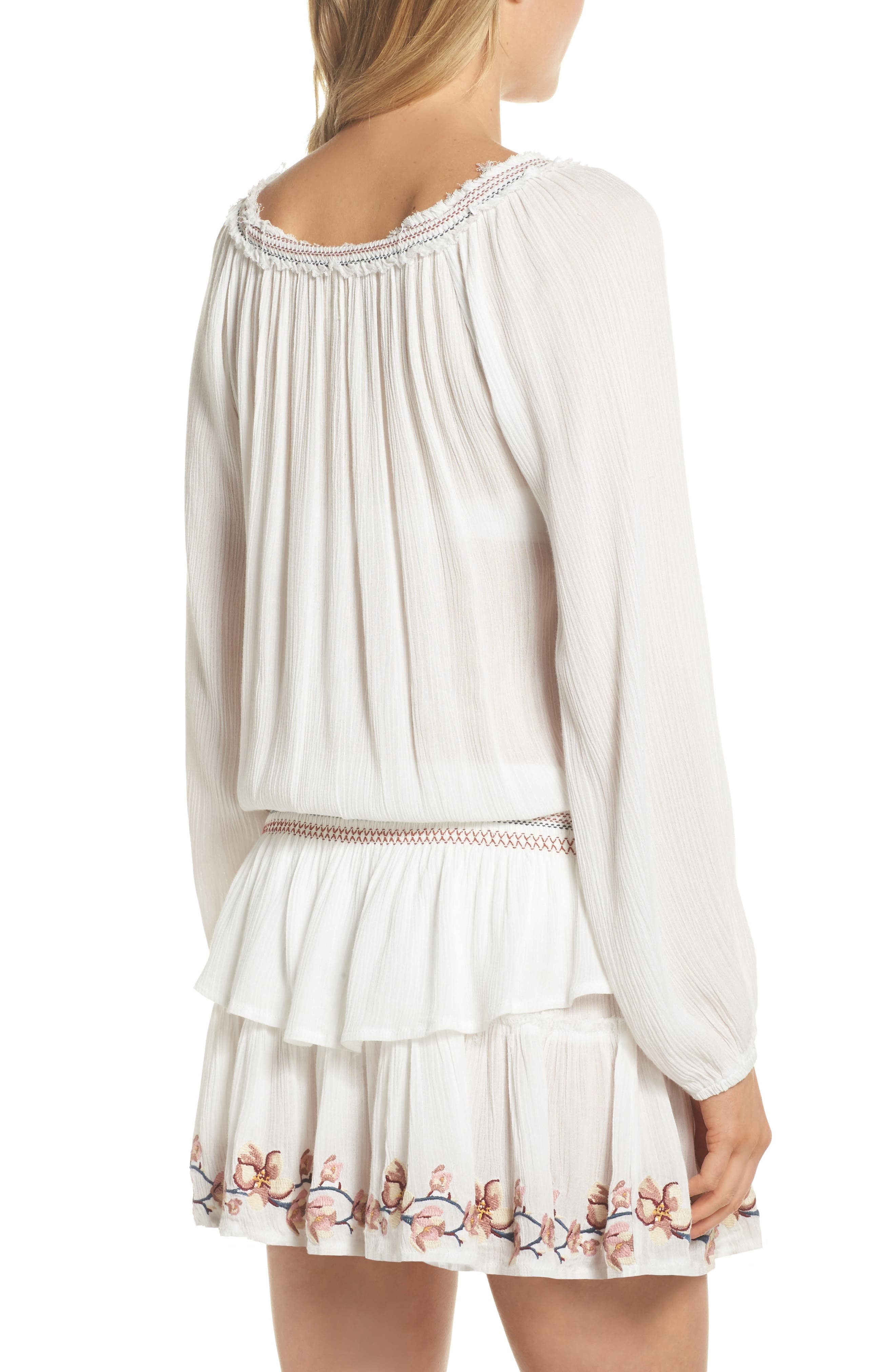 Cover-Up Dress,                             Alternate thumbnail 4, color,