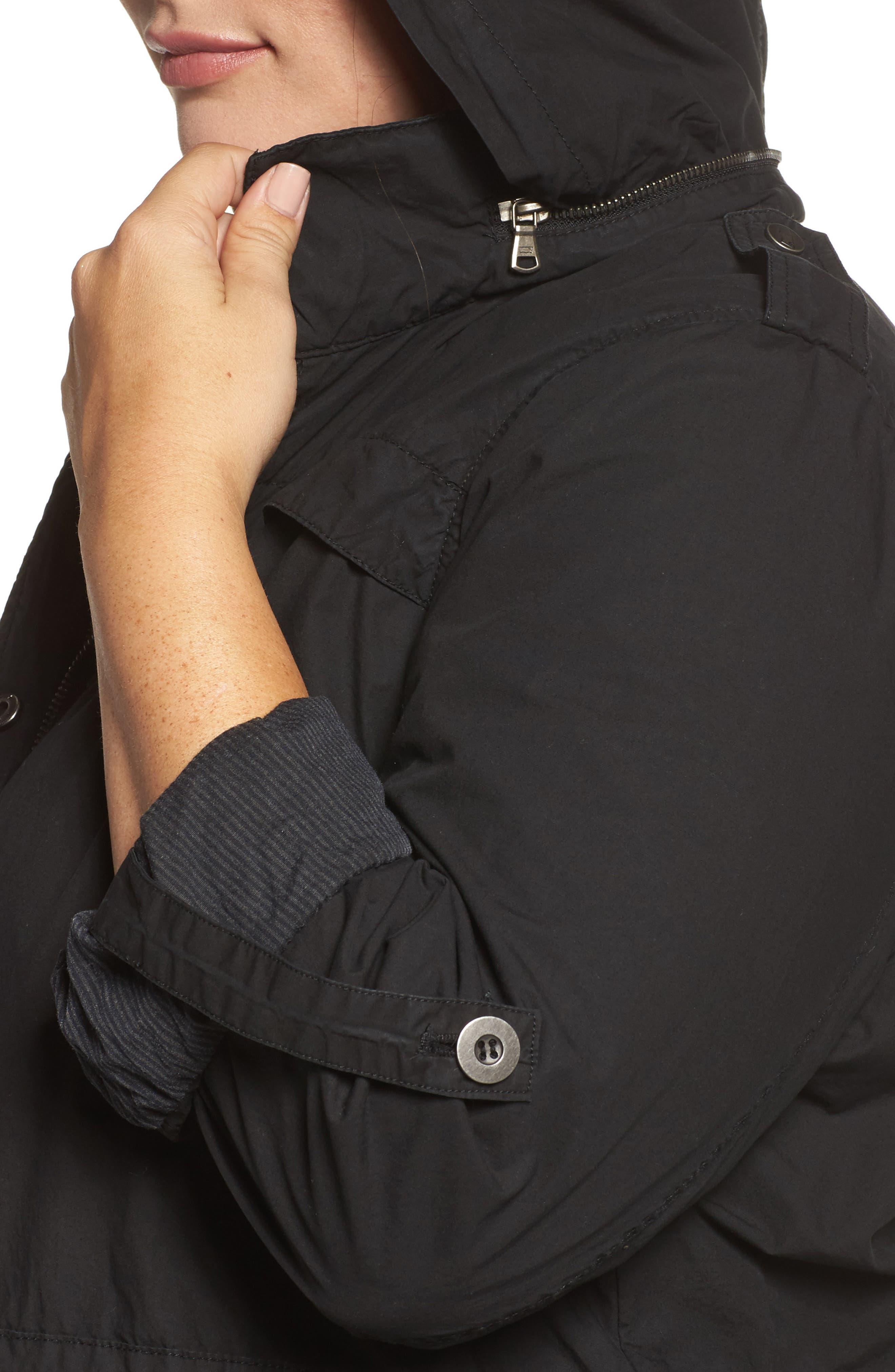 Parachute Hooded Cotton Utility Jacket,                             Alternate thumbnail 10, color,
