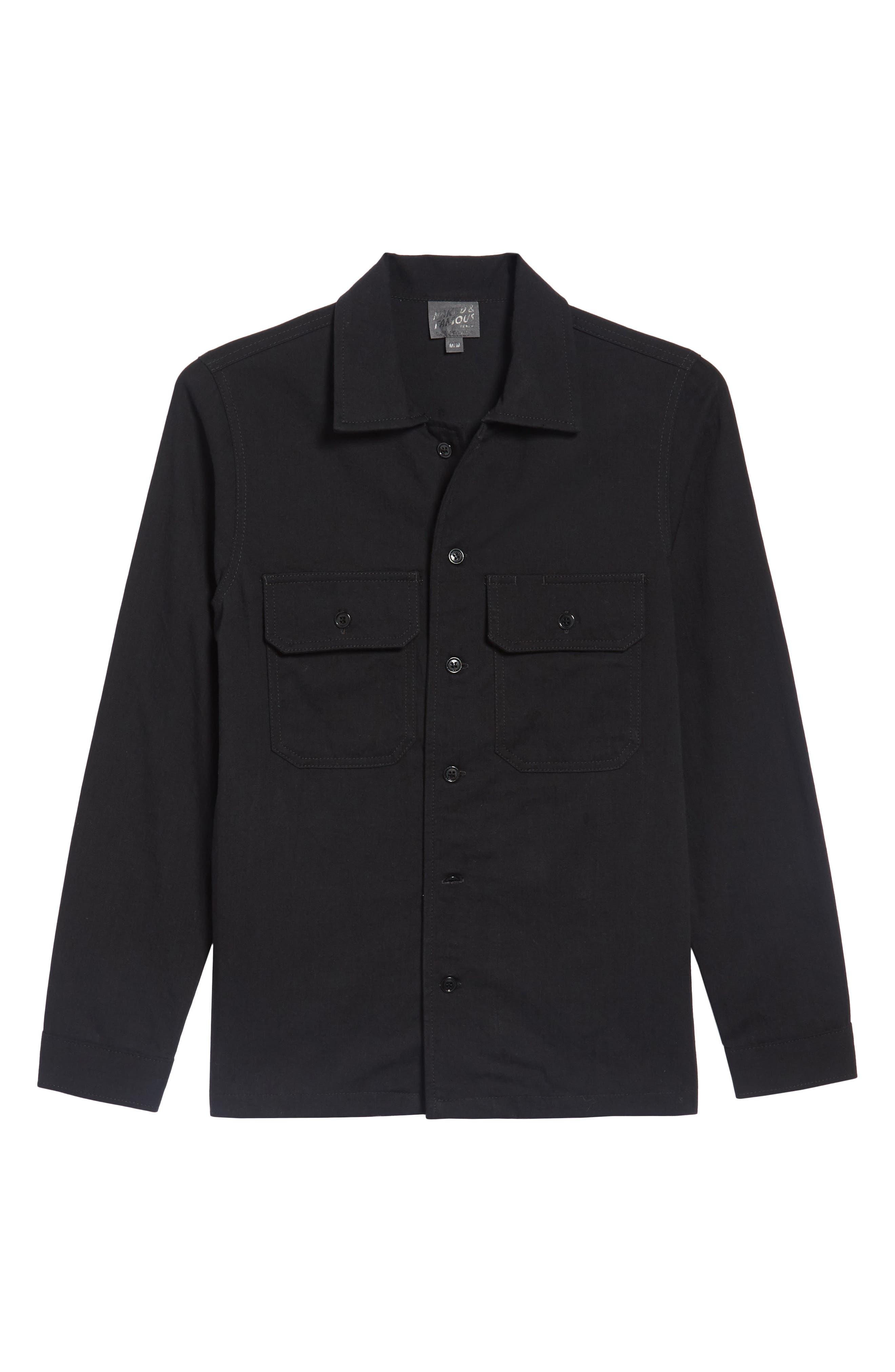 Long Sleeve Shirt,                             Alternate thumbnail 6, color,