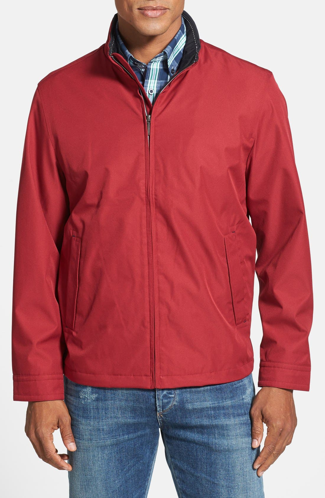 Waterproof & Windproof Bomber,                             Main thumbnail 7, color,