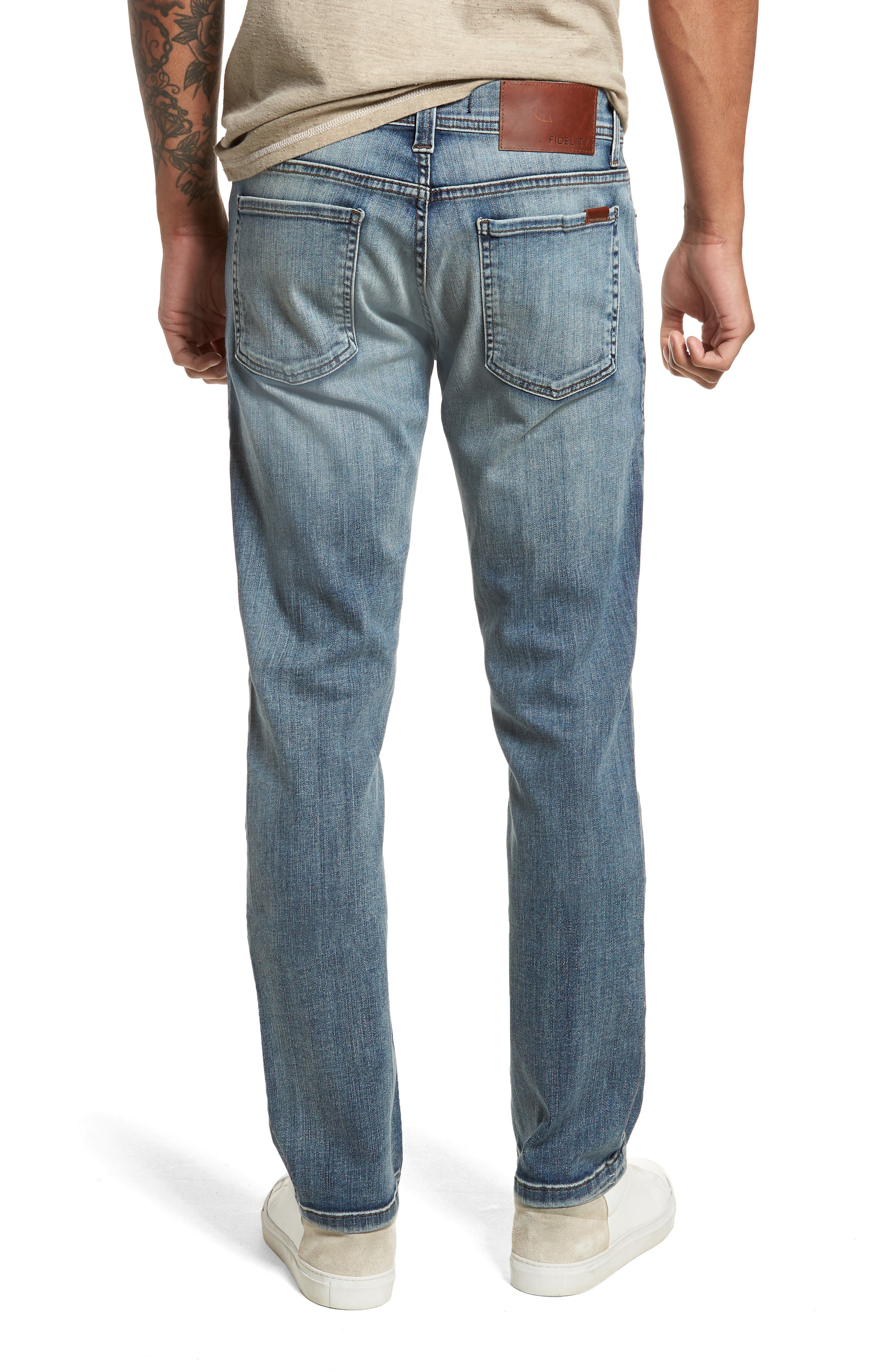 Jimmy Slim Fit Jeans,                             Alternate thumbnail 2, color,                             400