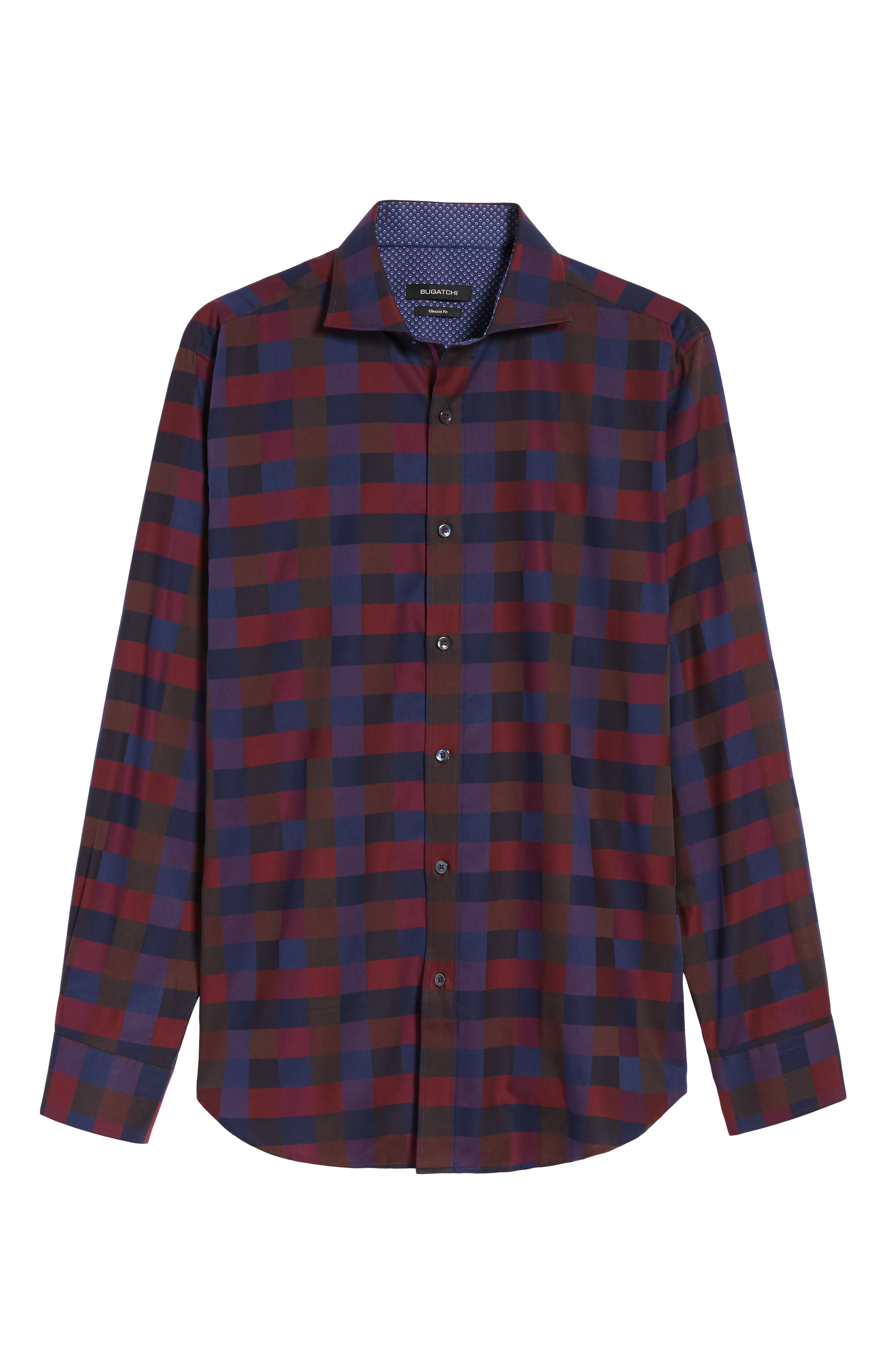 Classic Fit Check Sport Shirt,                             Alternate thumbnail 6, color,                             503