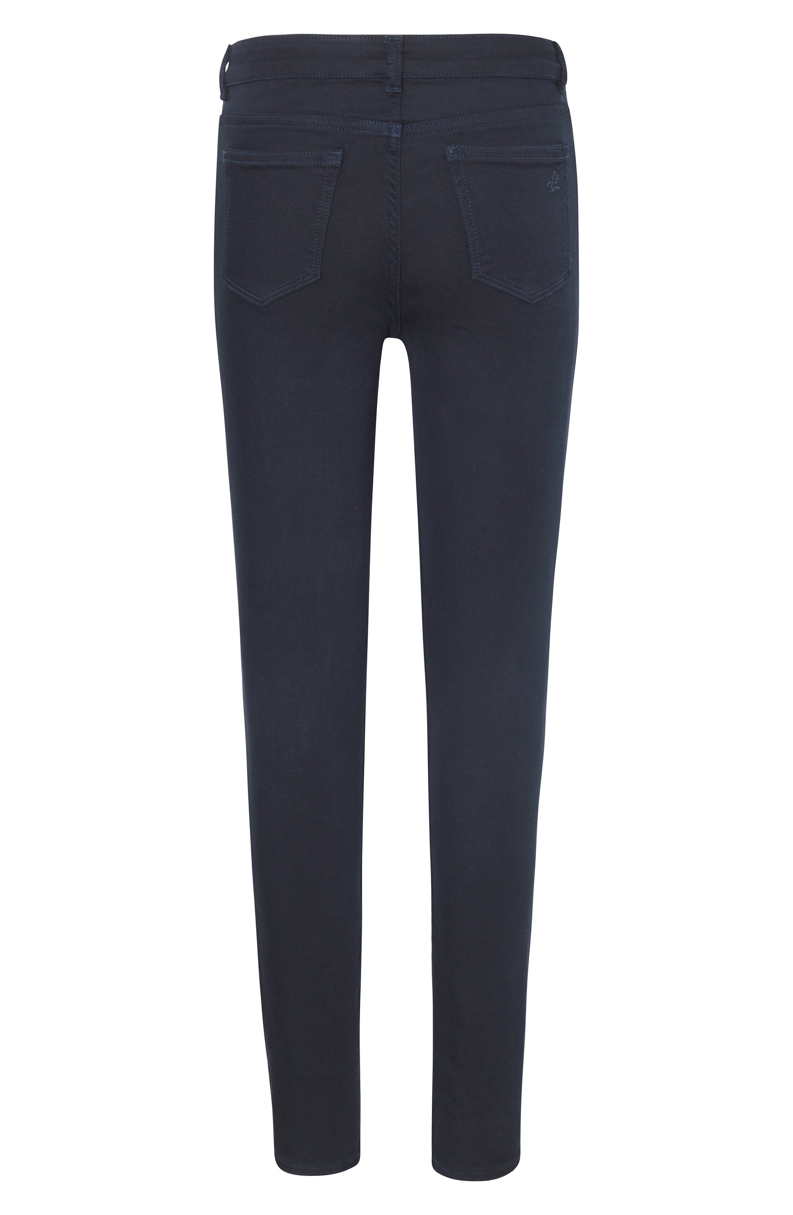Skinny Jeans,                             Alternate thumbnail 2, color,                             DEEP NAVY
