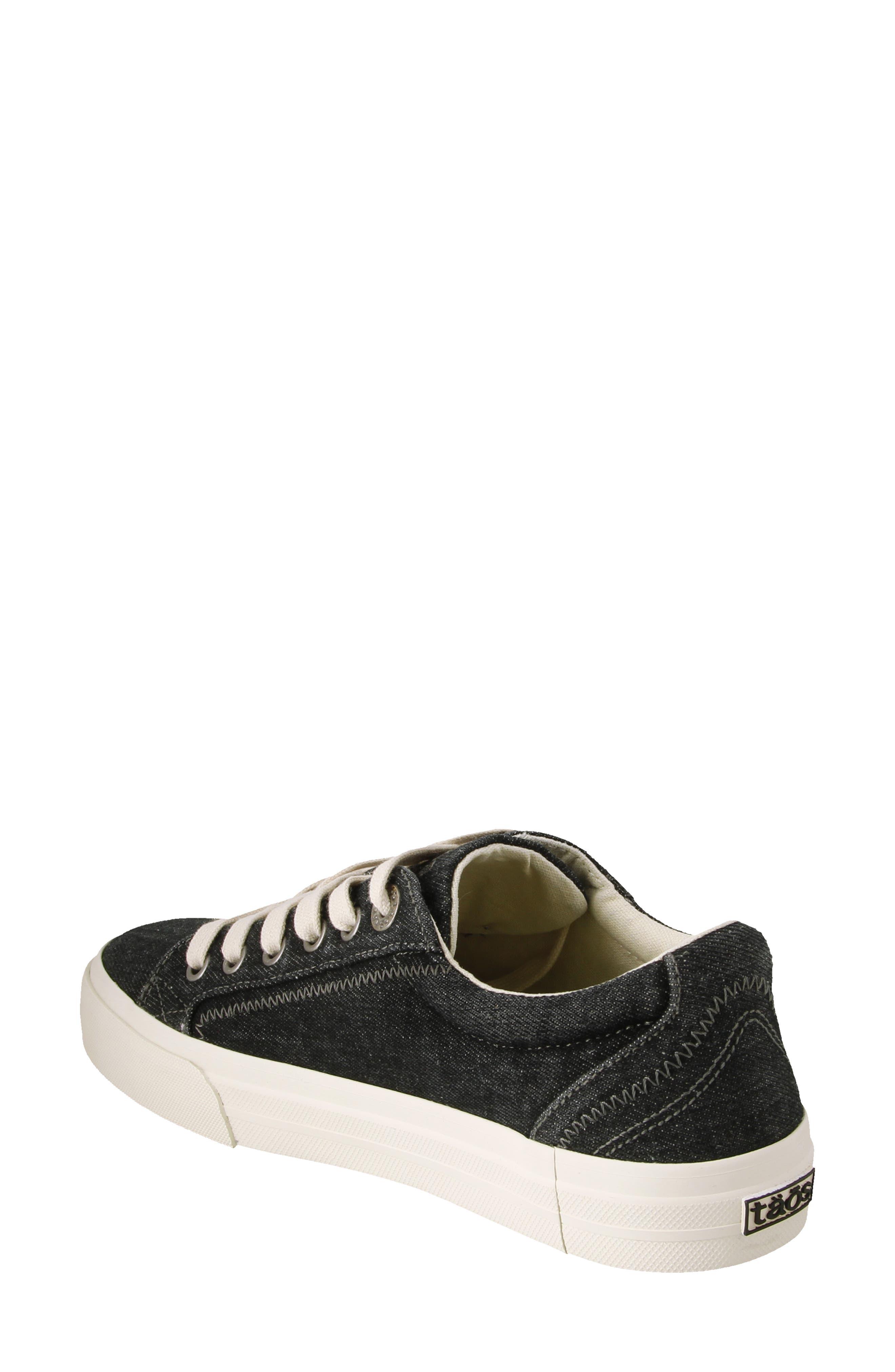 Plim Soul Sneaker,                             Alternate thumbnail 2, color,                             BLACK DENIM FABRIC