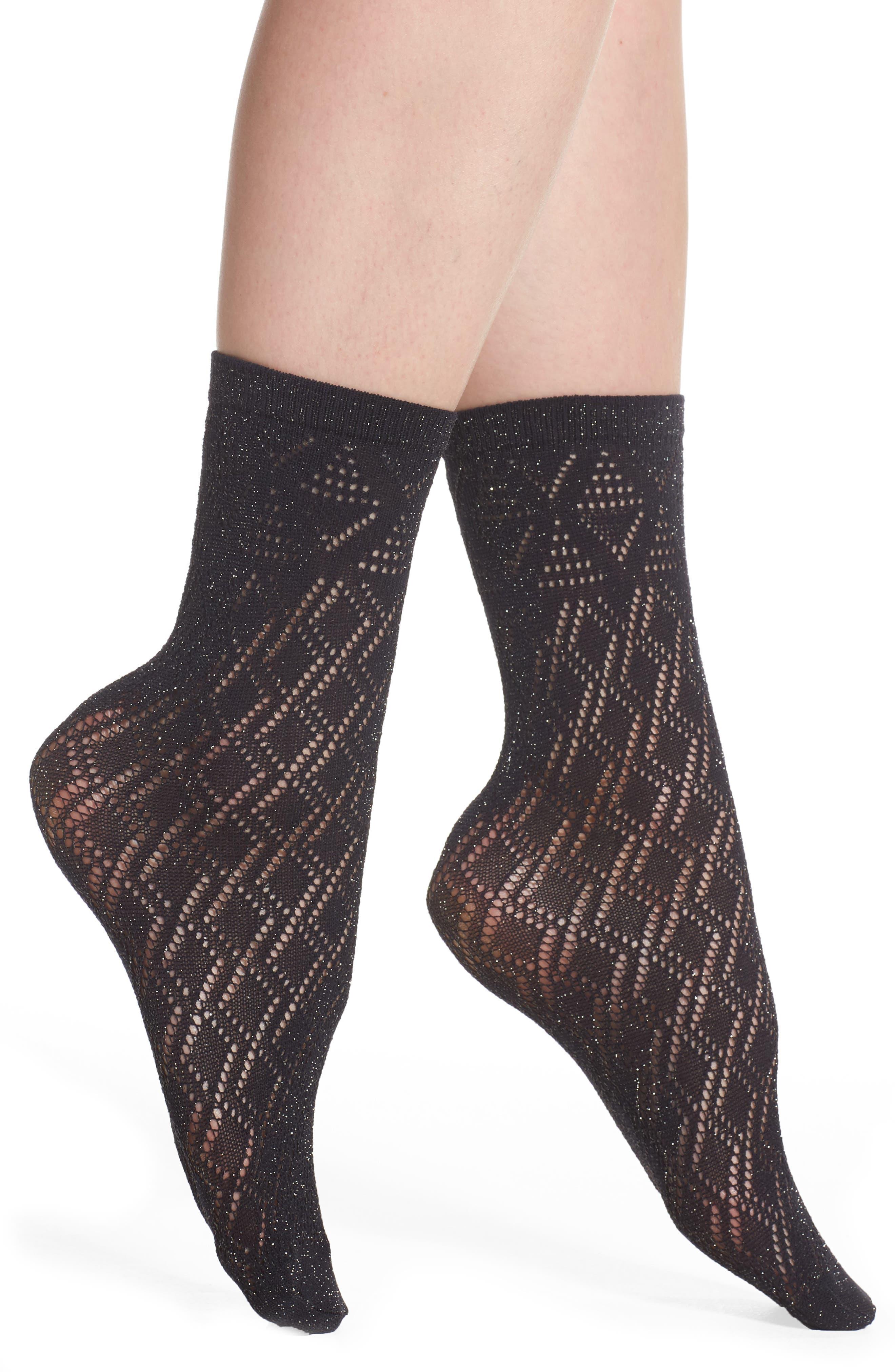 Kathy Trouser Socks,                             Main thumbnail 1, color,                             001