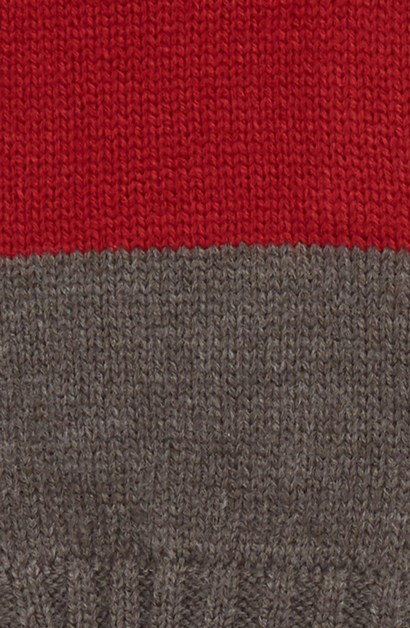THE RAIL,                             Colorblock Fingerless Gloves,                             Alternate thumbnail 2, color,                             021