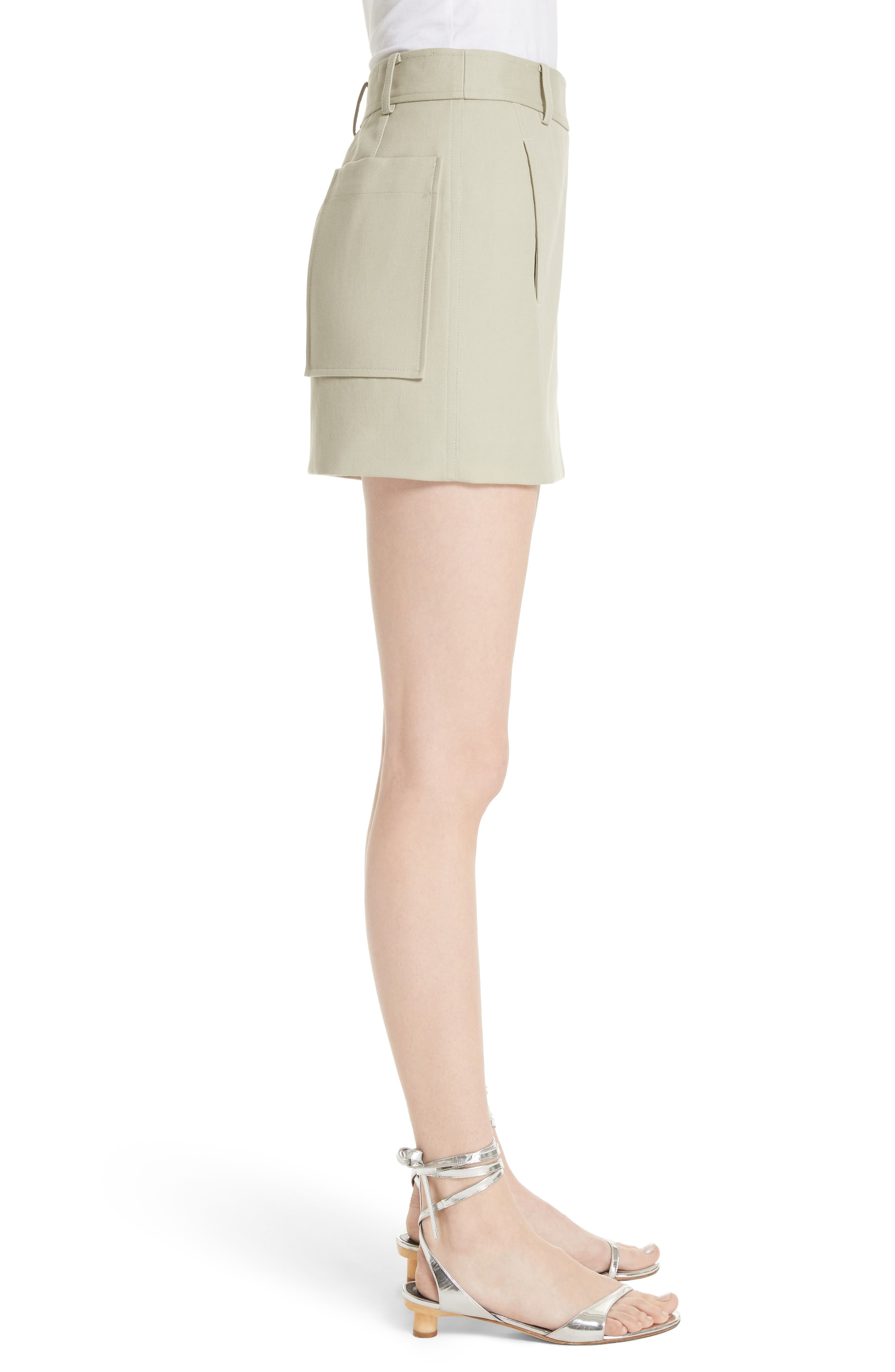 TIBI,                             Margaux Miniskirt,                             Alternate thumbnail 3, color,                             310