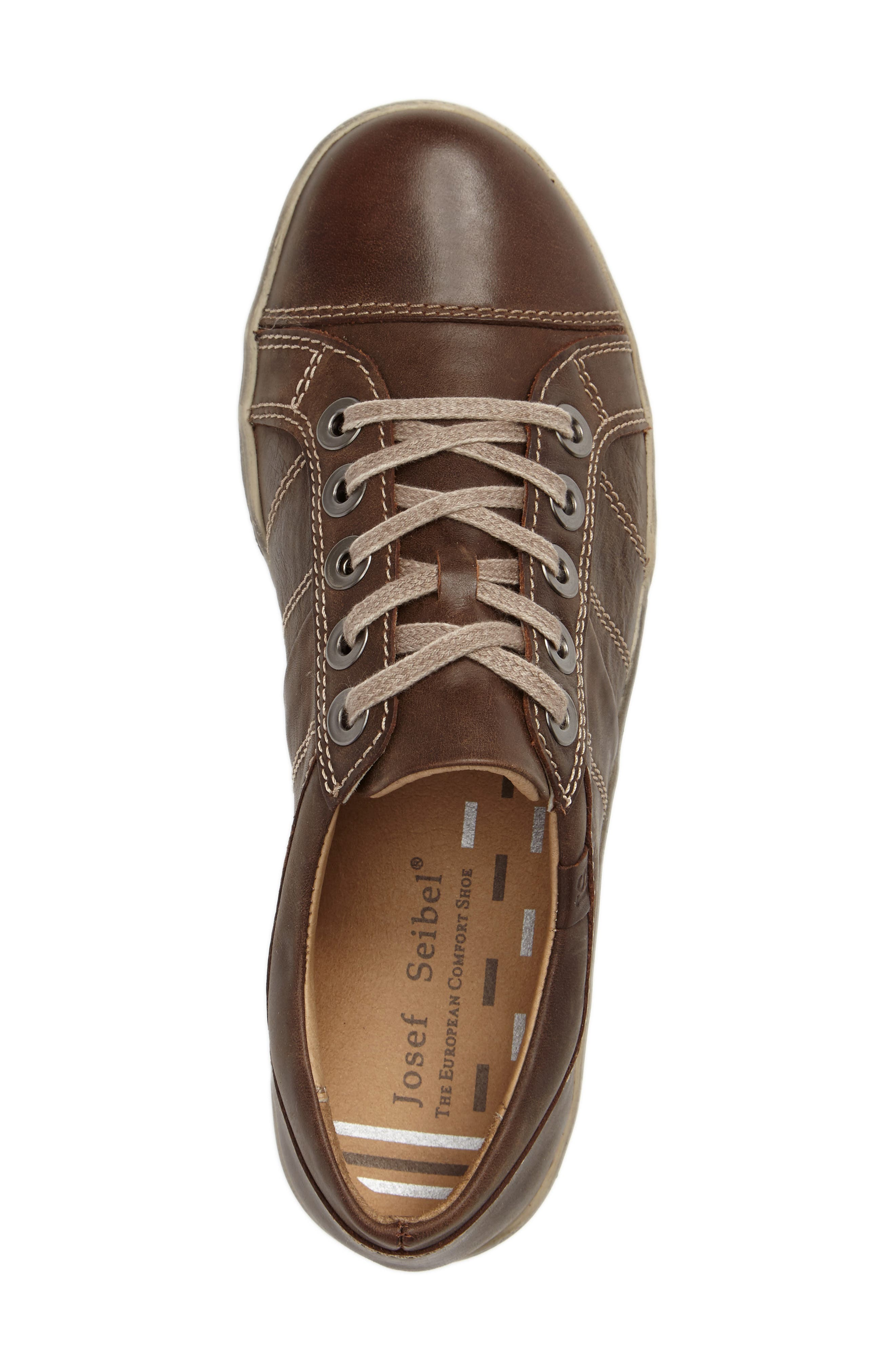 'Dany 05' Leather Sneaker,                             Alternate thumbnail 24, color,