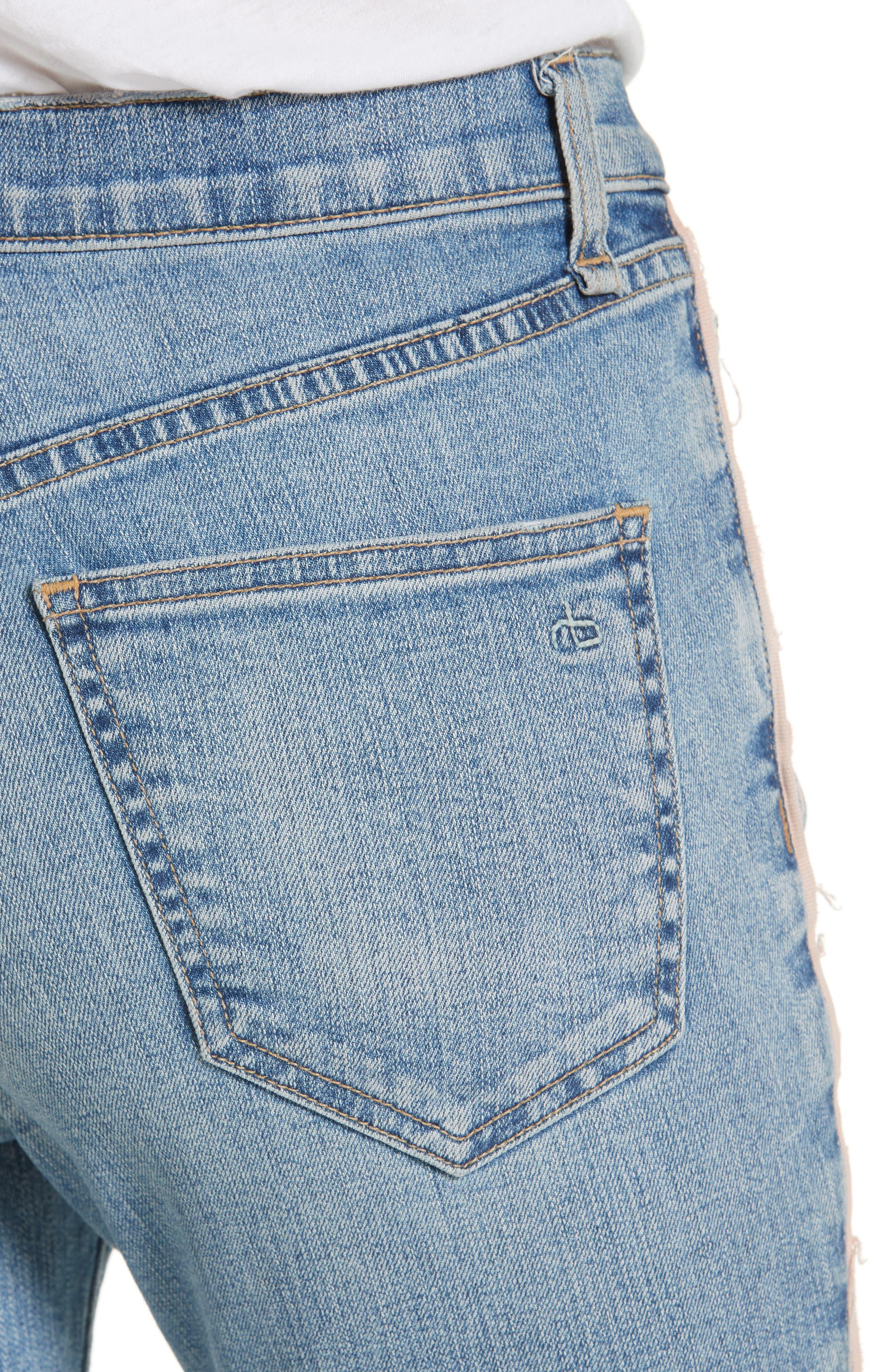 RAG & BONE,                             JEAN Skinny Jeans,                             Alternate thumbnail 4, color,                             422