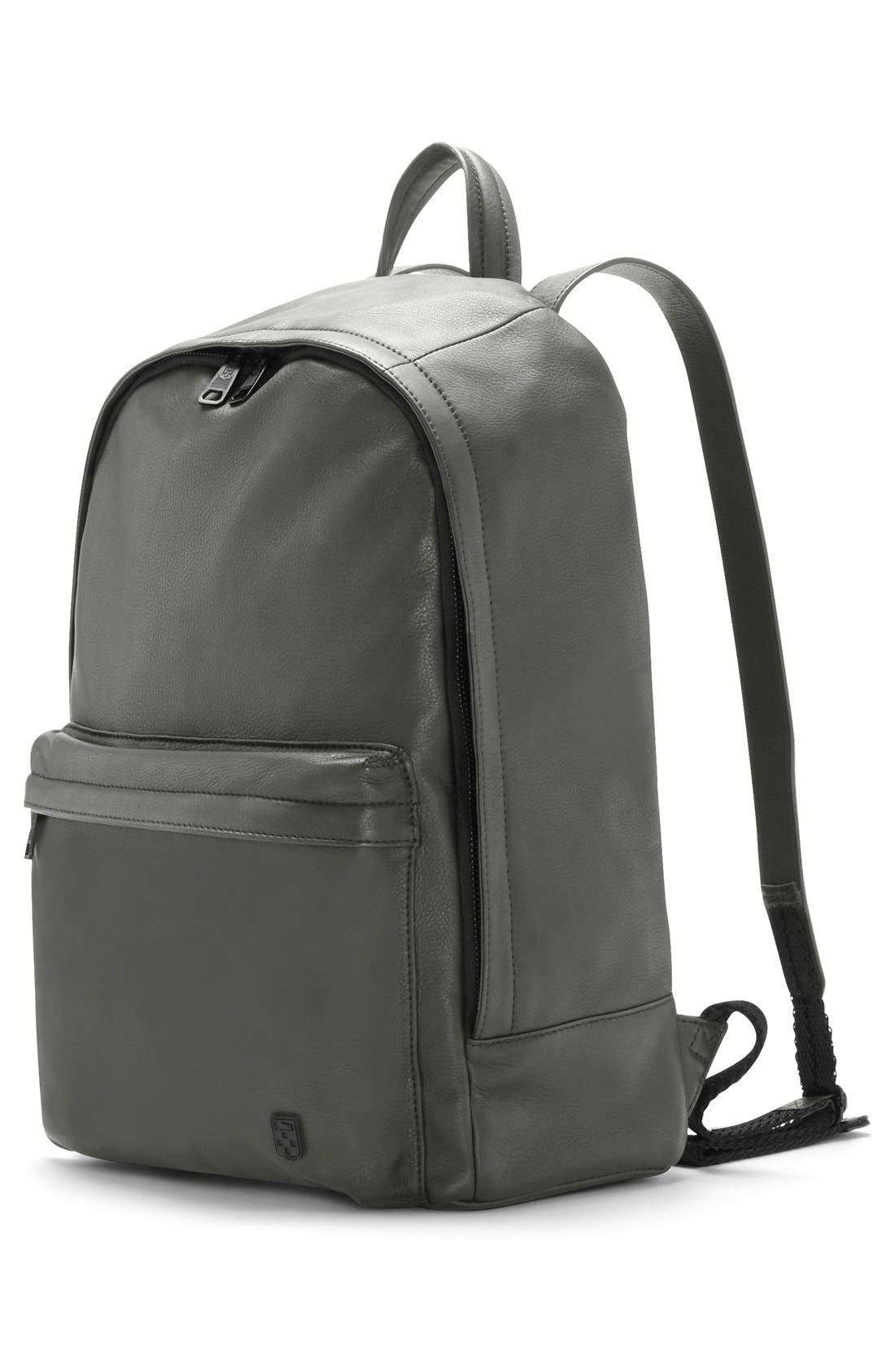'Tolve' Leather Backpack,                             Alternate thumbnail 4, color,                             021
