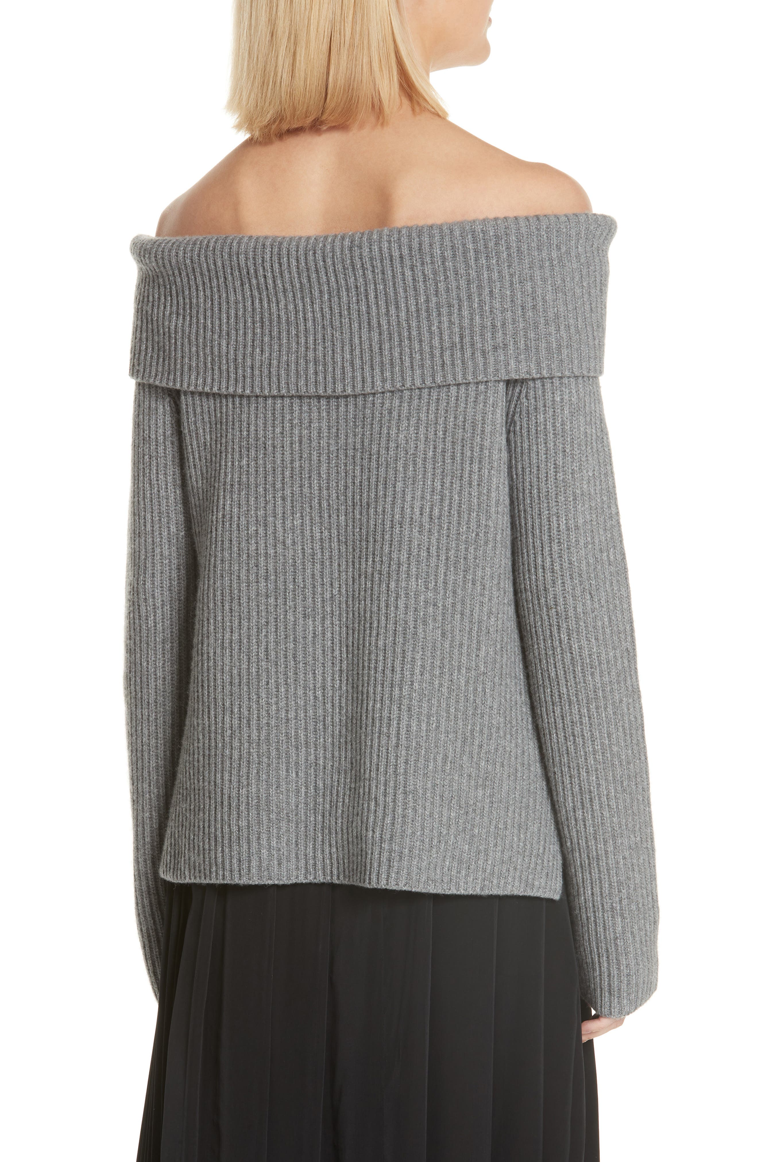 ROBERT RODRIGUEZ,                             Off the Shoulder Sweater,                             Alternate thumbnail 2, color,                             020