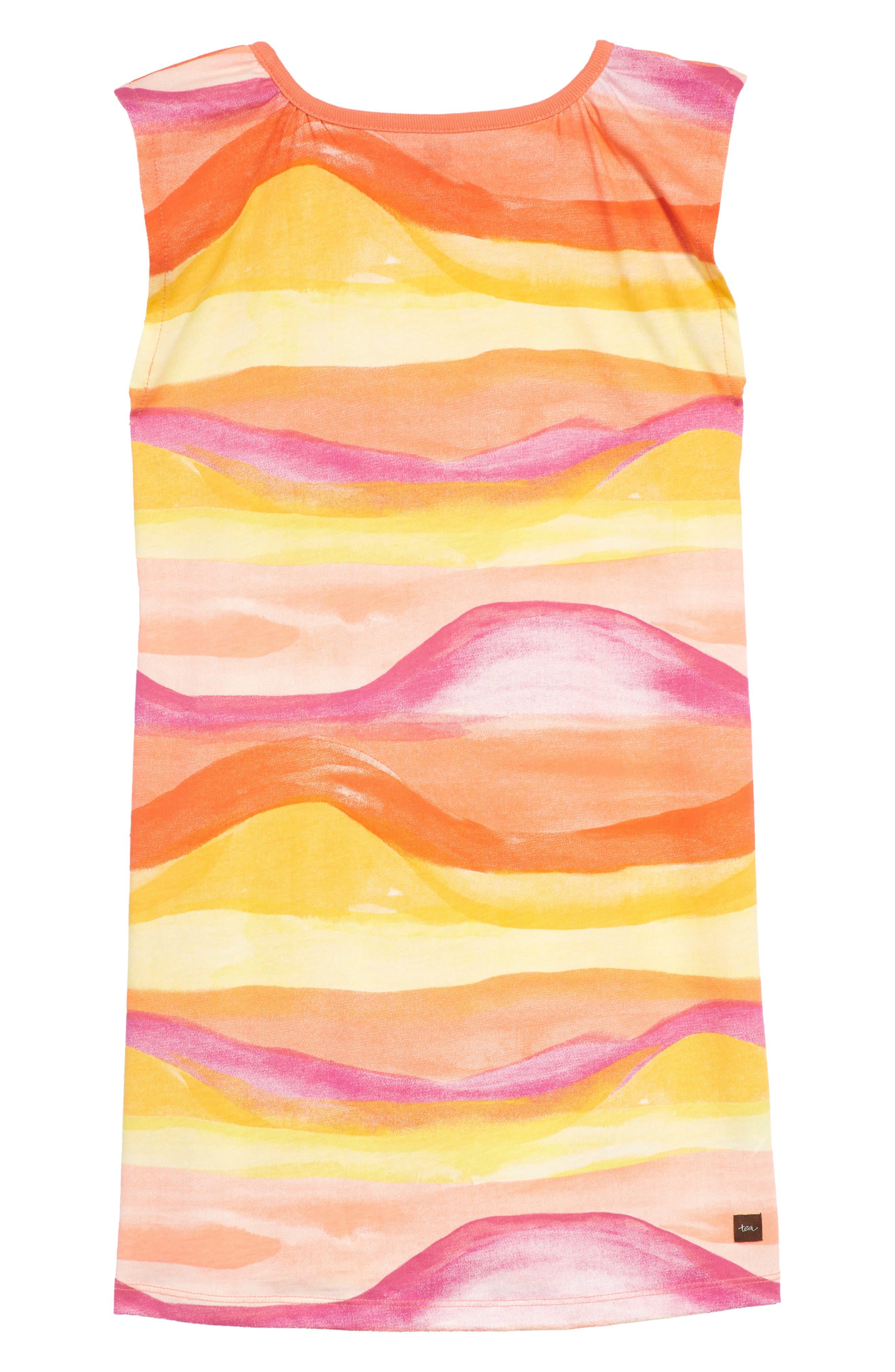 Desert Sunset Graphic Dress,                             Alternate thumbnail 2, color,                             700