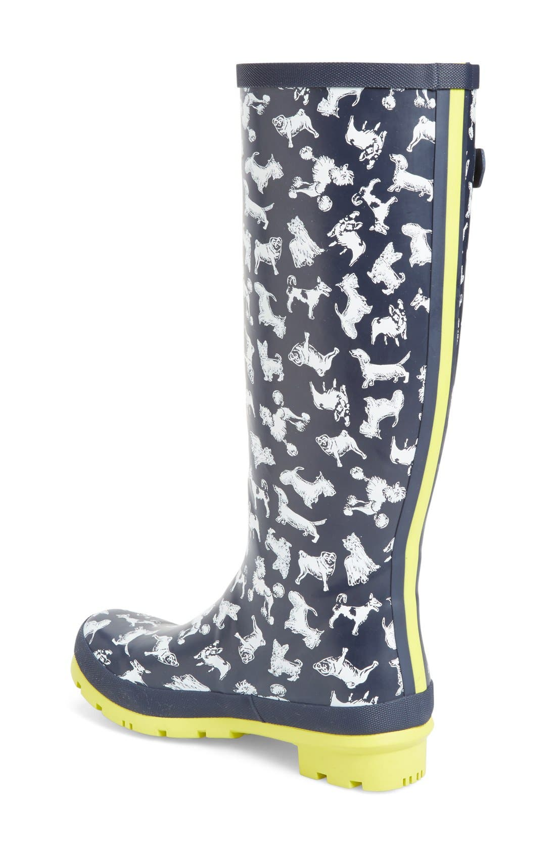 'Welly' Print Rain Boot,                             Alternate thumbnail 67, color,