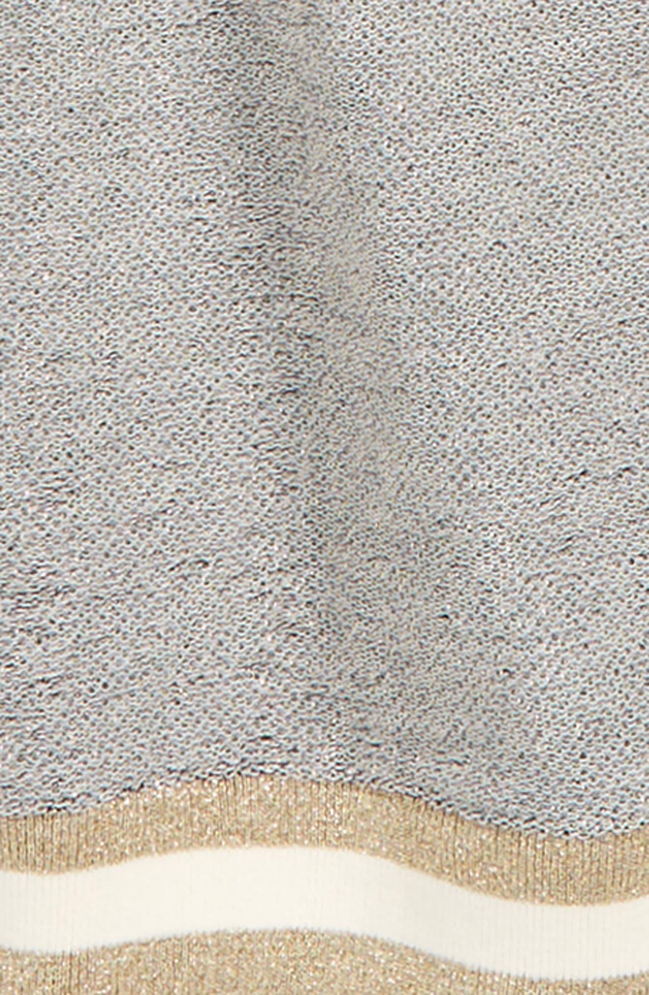 Eli Metallic Logo Sweatshirt,                             Alternate thumbnail 2, color,