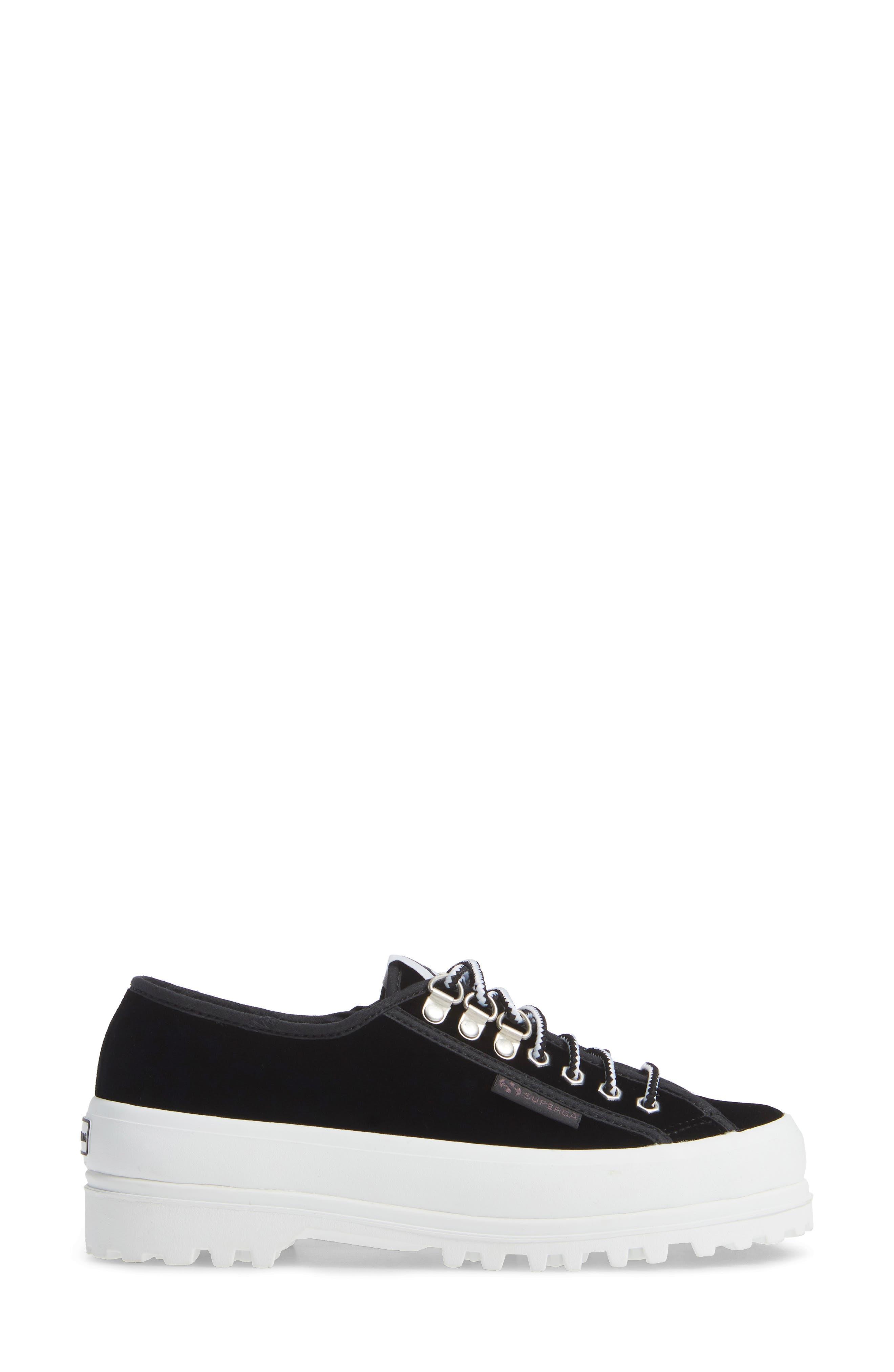 x Alexa Chung 2748 Veltvalpinaw Lugged Platform Sneaker,                             Alternate thumbnail 3, color,                             001