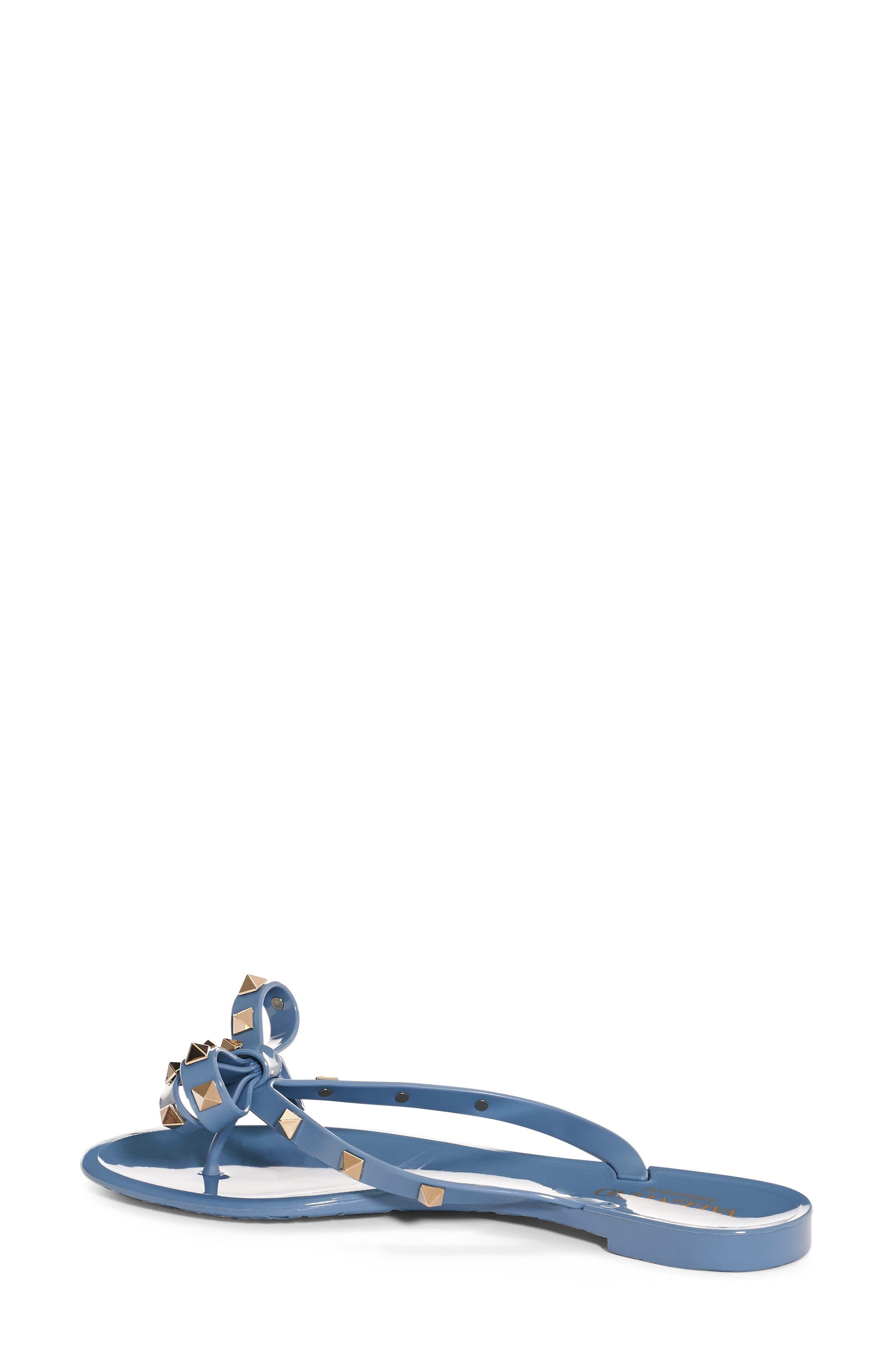 'Rockstud' Flip Flop,                             Main thumbnail 9, color,
