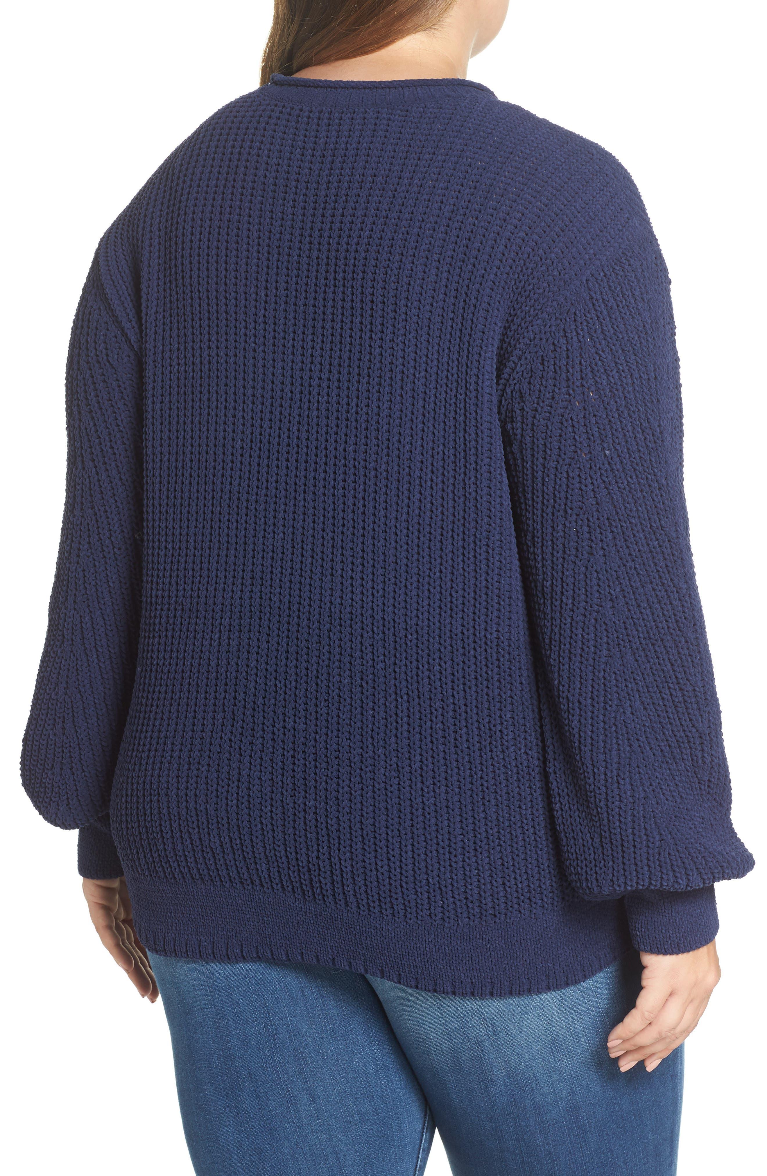 CASLON<SUP>®</SUP>,                             Chenille Crewneck Sweater,                             Alternate thumbnail 2, color,                             401