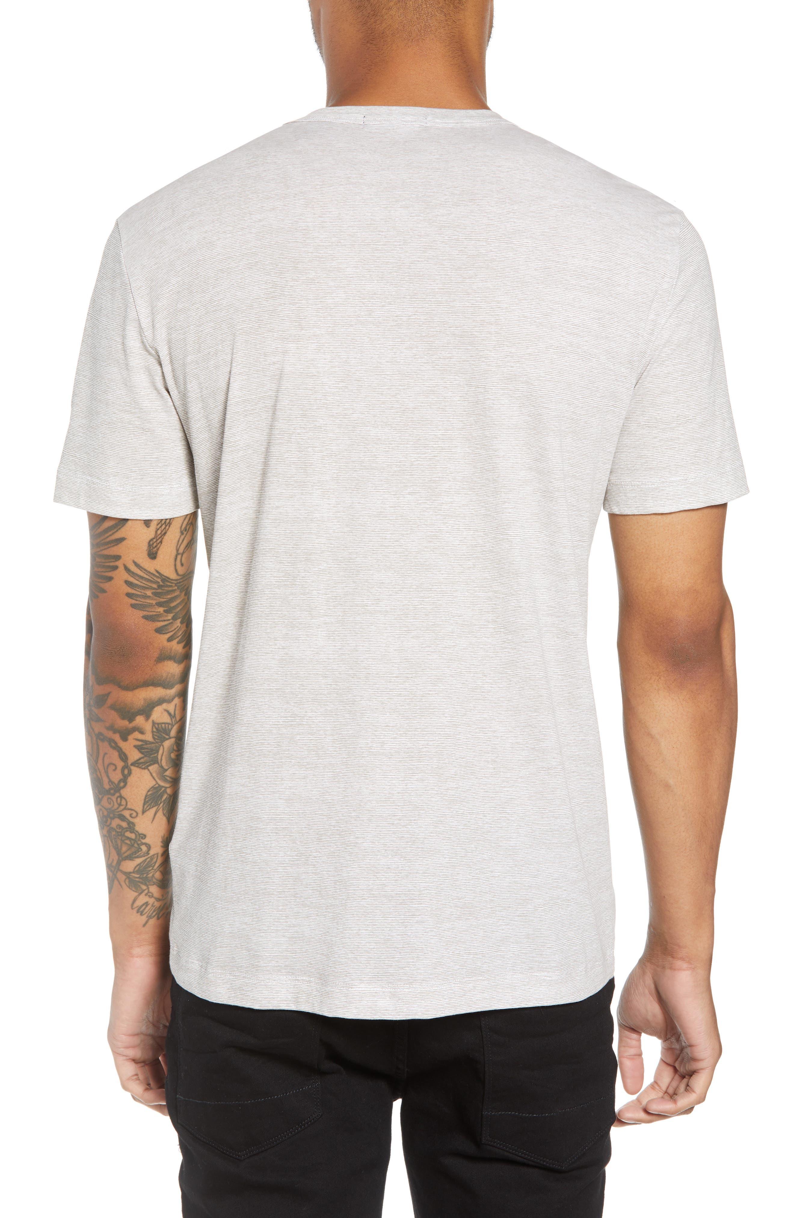 Essential Regular Fit Short Short Sleeve Henley,                             Alternate thumbnail 2, color,                             021