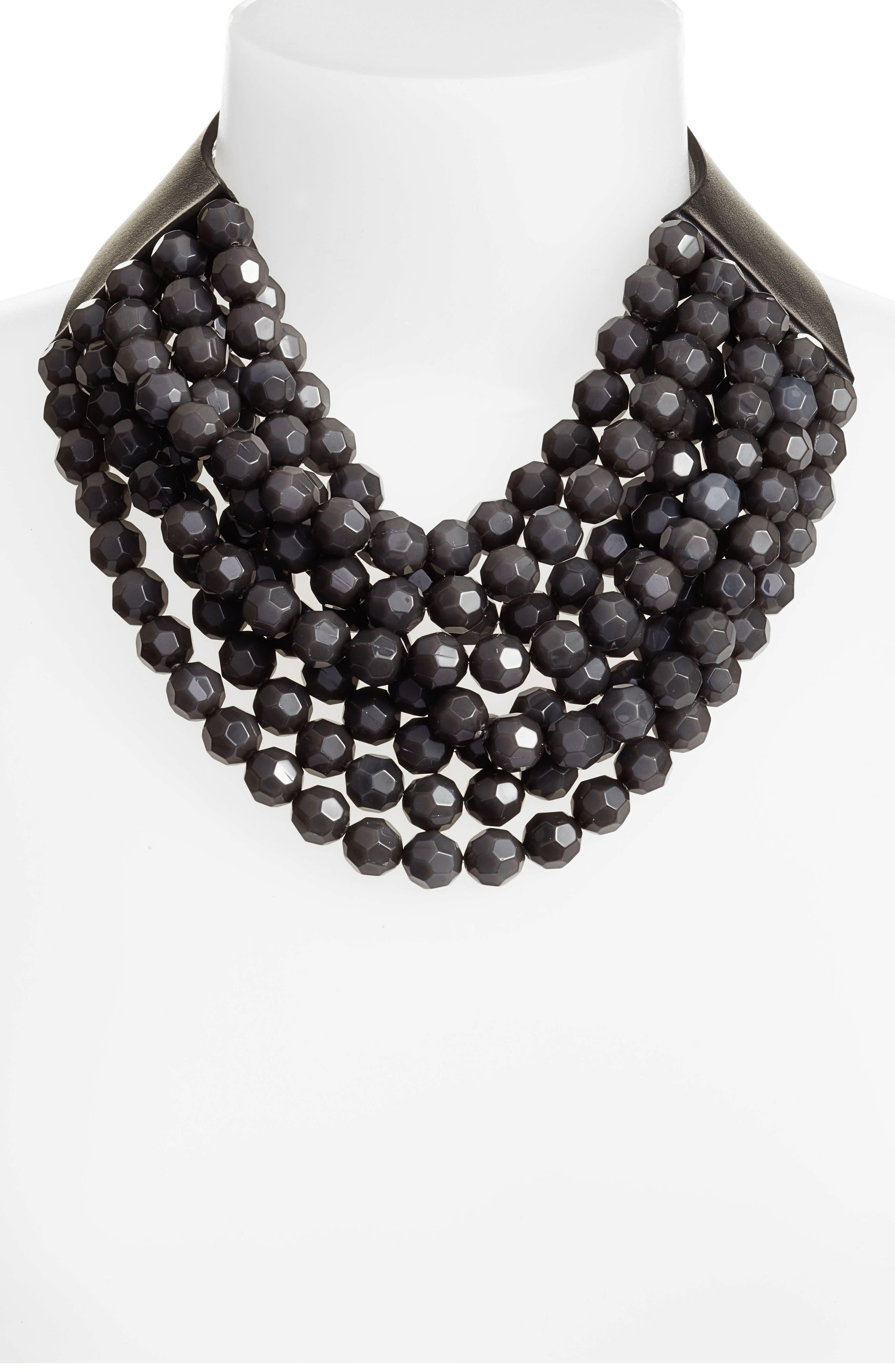 FAIRCHILD BALDWIN,                             Beaded Collar Necklace,                             Alternate thumbnail 2, color,                             020