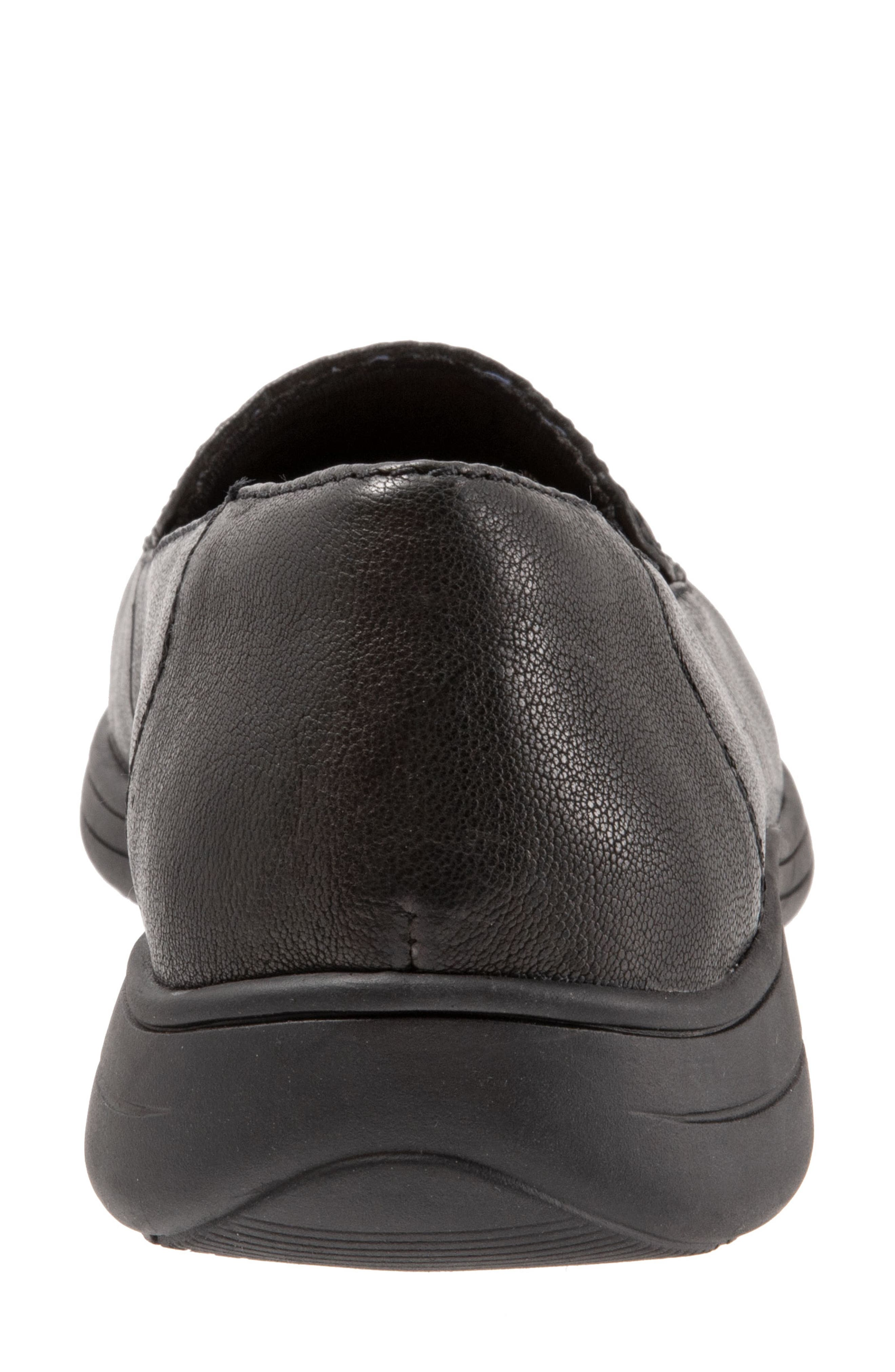 Jacob Loafer,                             Alternate thumbnail 7, color,                             BLACK LEATHER