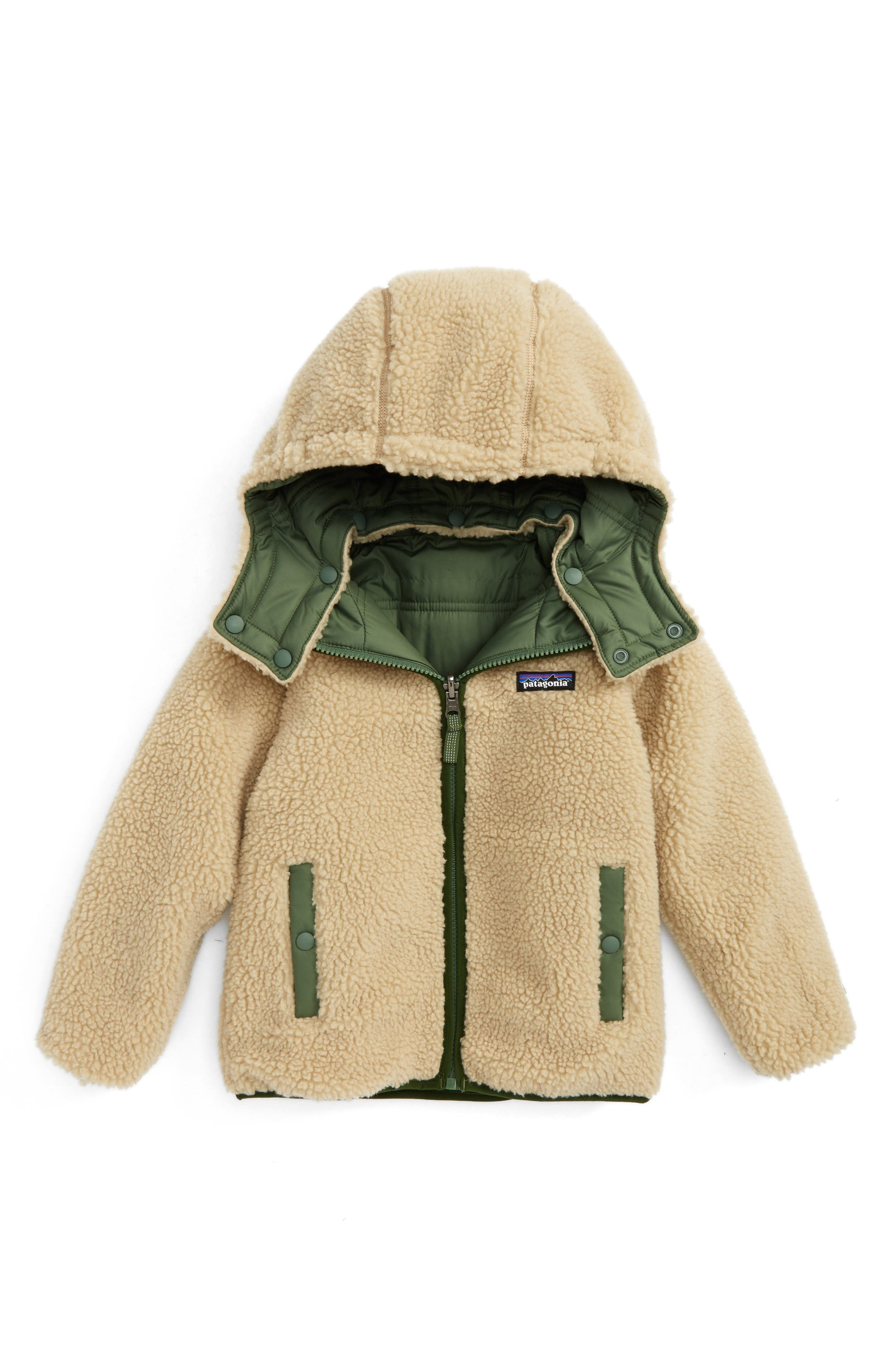'Tribbles' Reversible Water Resistant Snow Jacket,                             Alternate thumbnail 7, color,
