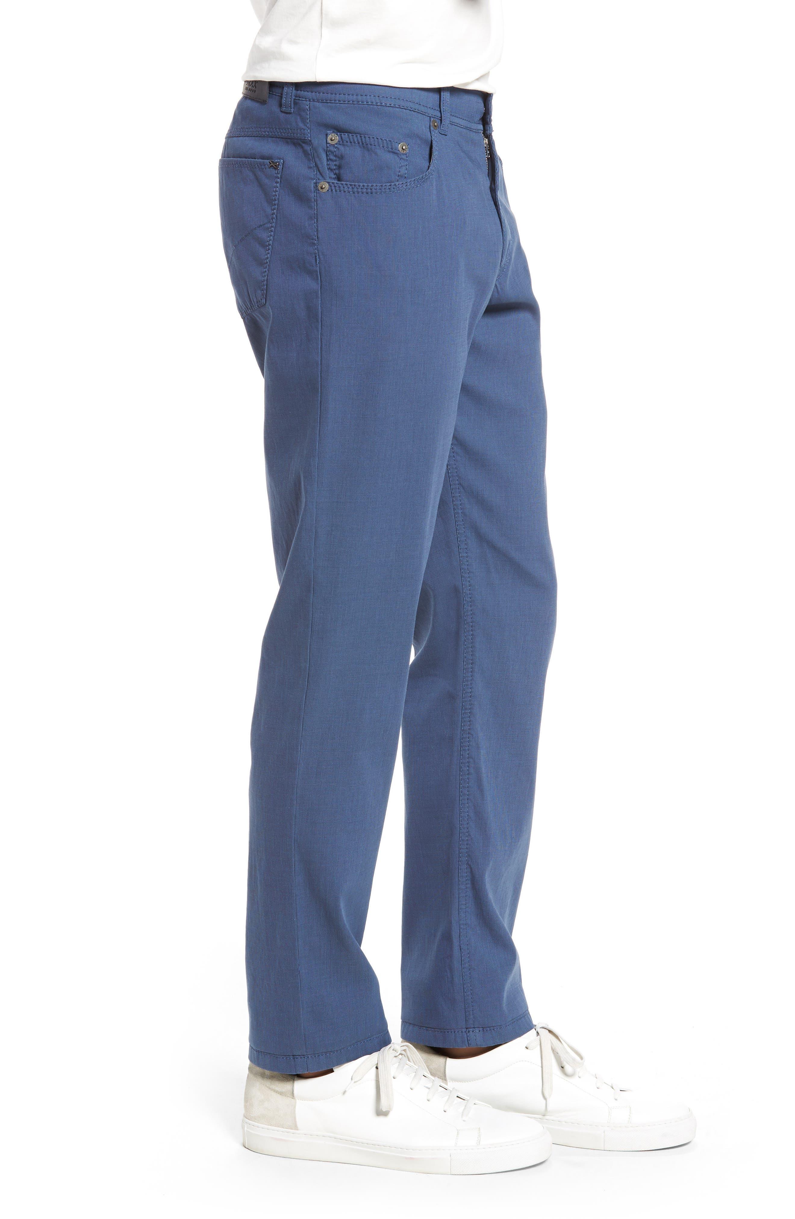 Sensation Stretch Trousers,                             Alternate thumbnail 3, color,                             BLUE