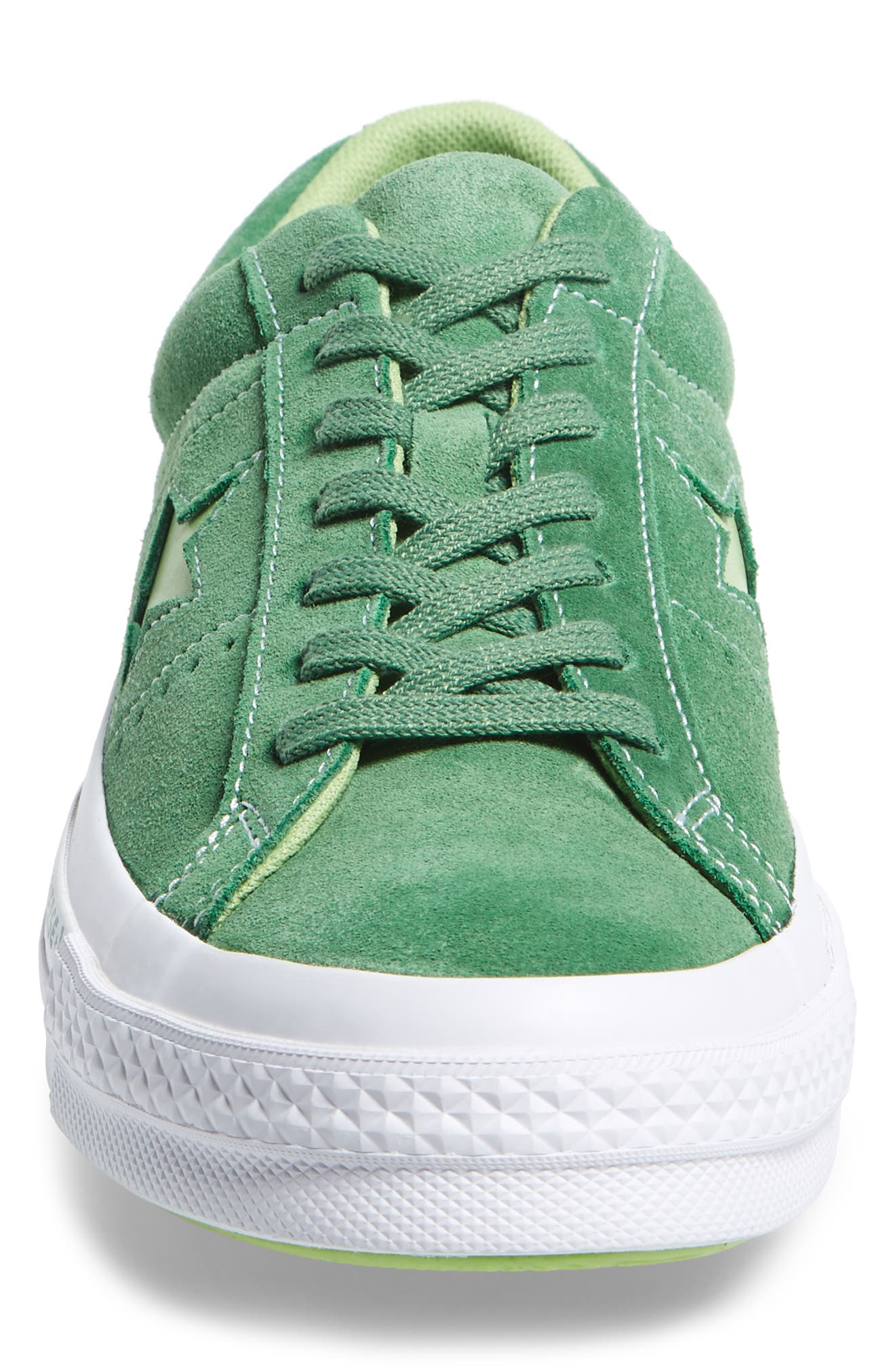 Chuck Taylor<sup>®</sup> One Star Pinstripe Sneaker,                             Alternate thumbnail 4, color,                             350