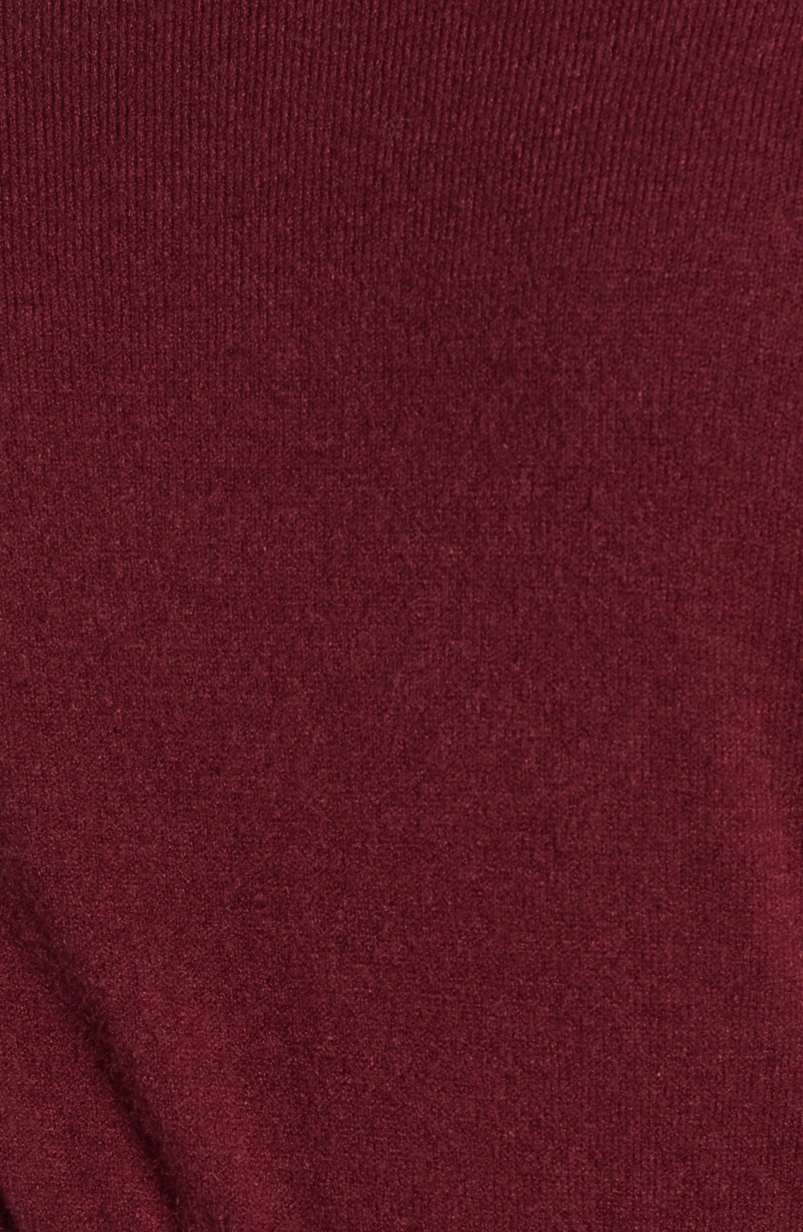 Waist Detail Off the Shoulder Sweater,                             Alternate thumbnail 5, color,                             601