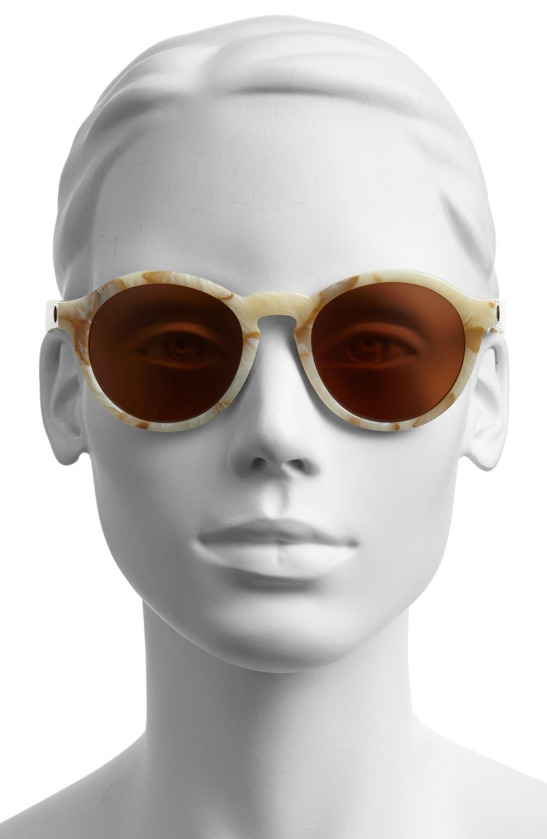 'Reprise' 50mm Round Sunglasses,                             Alternate thumbnail 8, color,