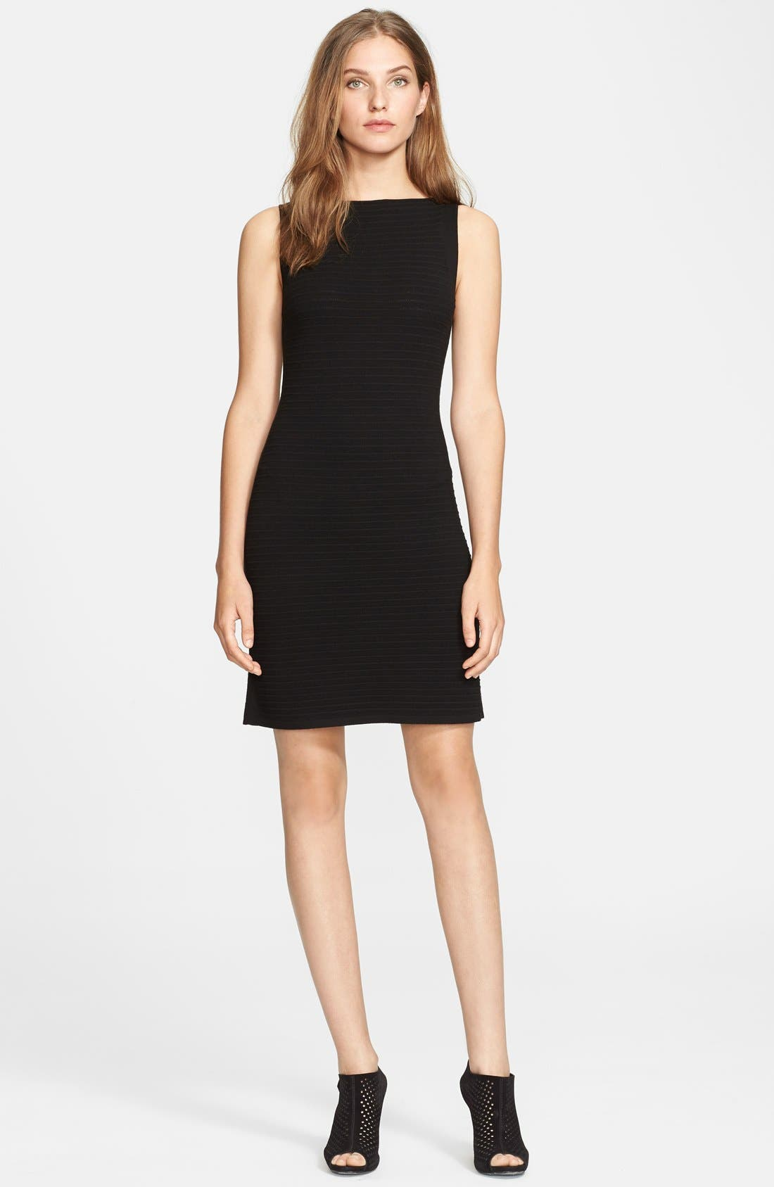 THEORY 'Abrissa' Sheath Dress, Main, color, 001