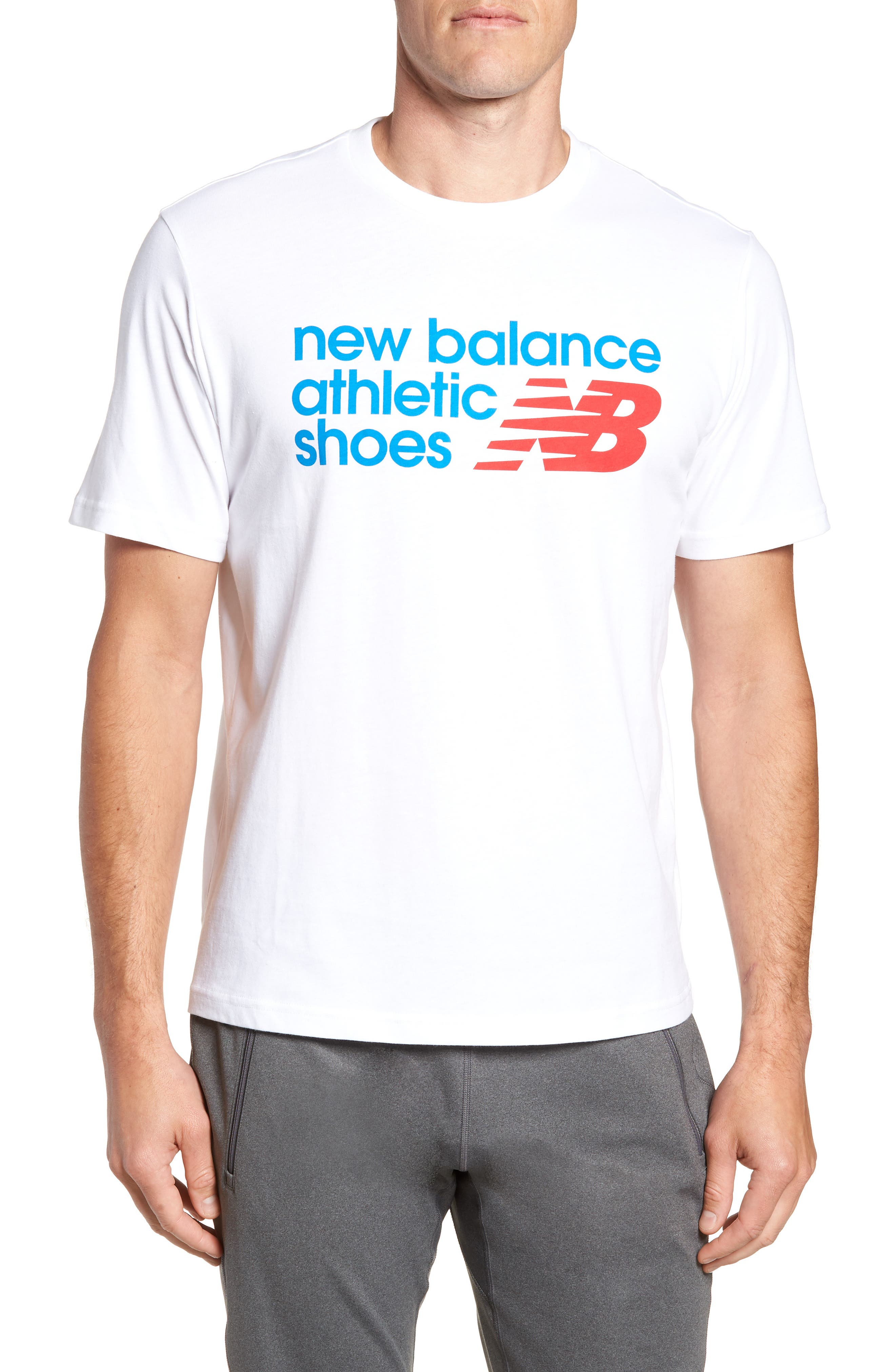 New Balance Nb Shoe Box Graphic T-Shirt, White