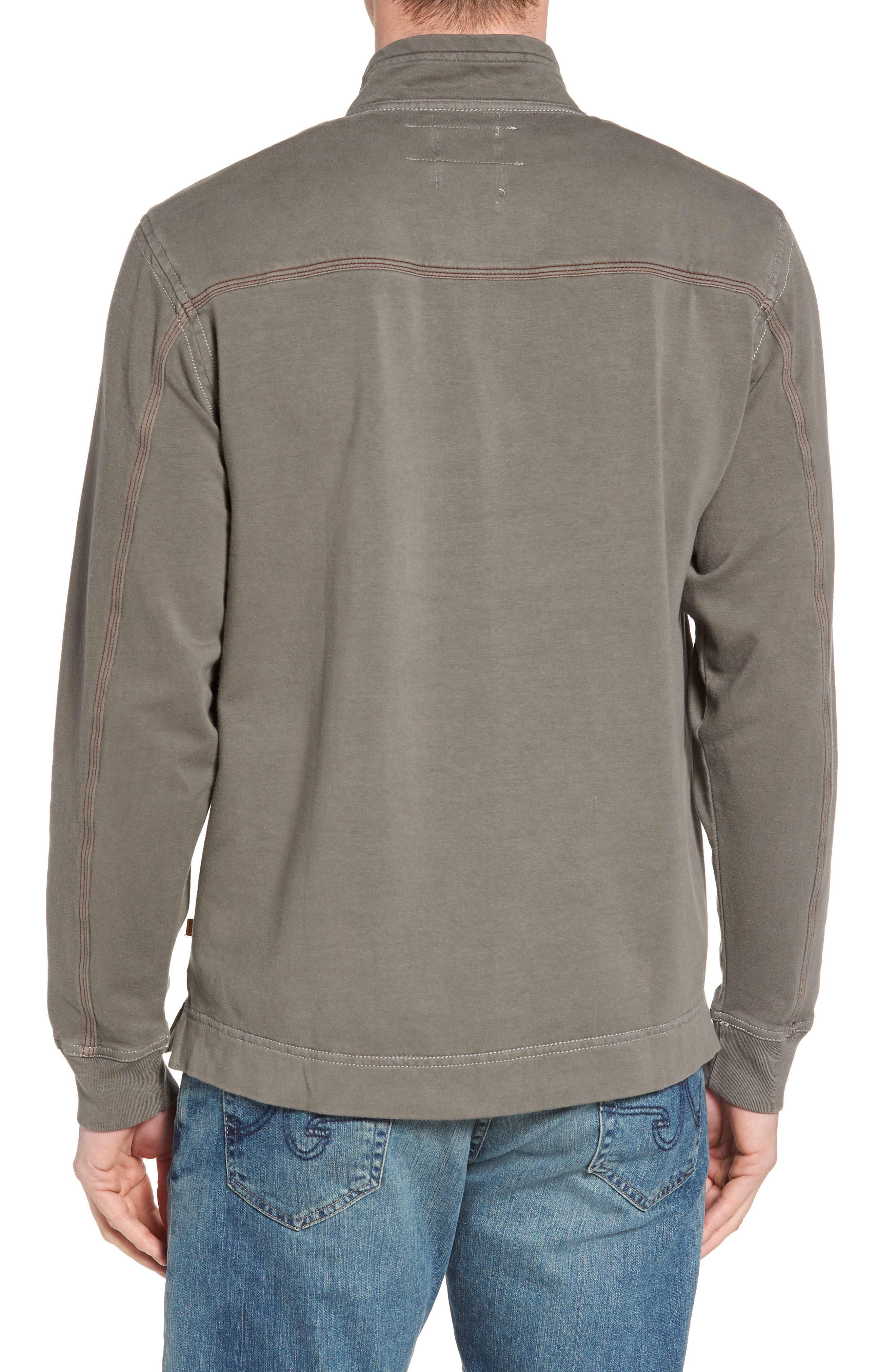 Quarter Zip Fleece Pullover,                             Alternate thumbnail 2, color,                             020
