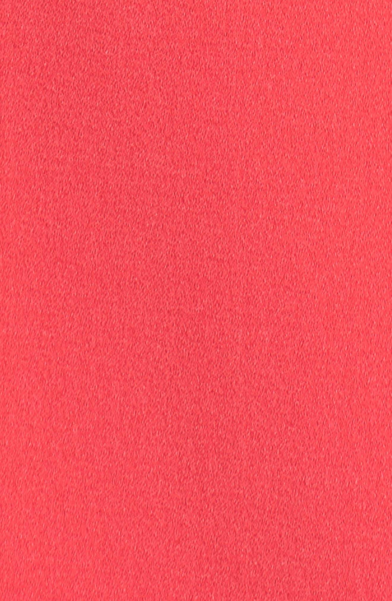 Bell Sleeve Crepe Shift Dress,                             Alternate thumbnail 20, color,