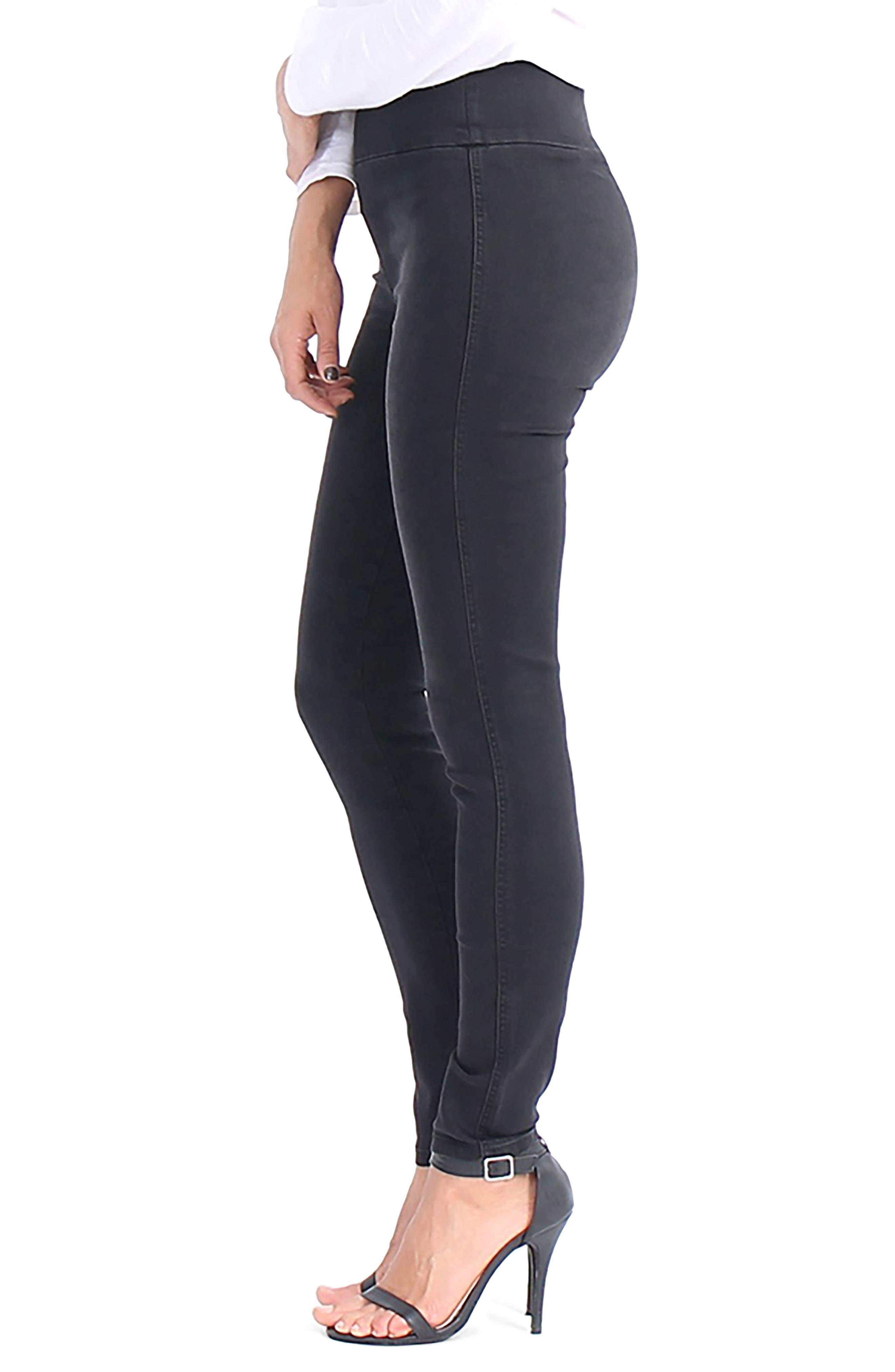 Devon Pull On Skinny Jeans,                             Alternate thumbnail 3, color,                             003