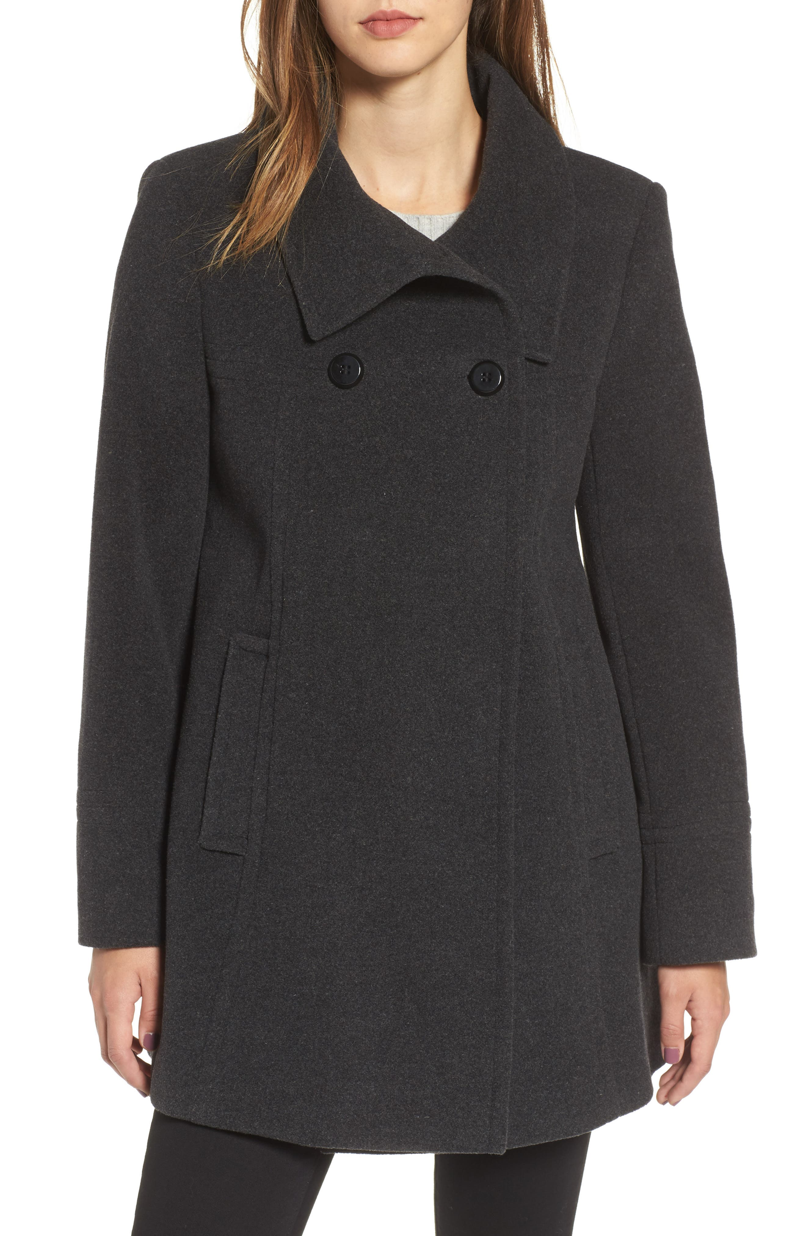 Double Breasted Coat,                         Main,                         color, 029